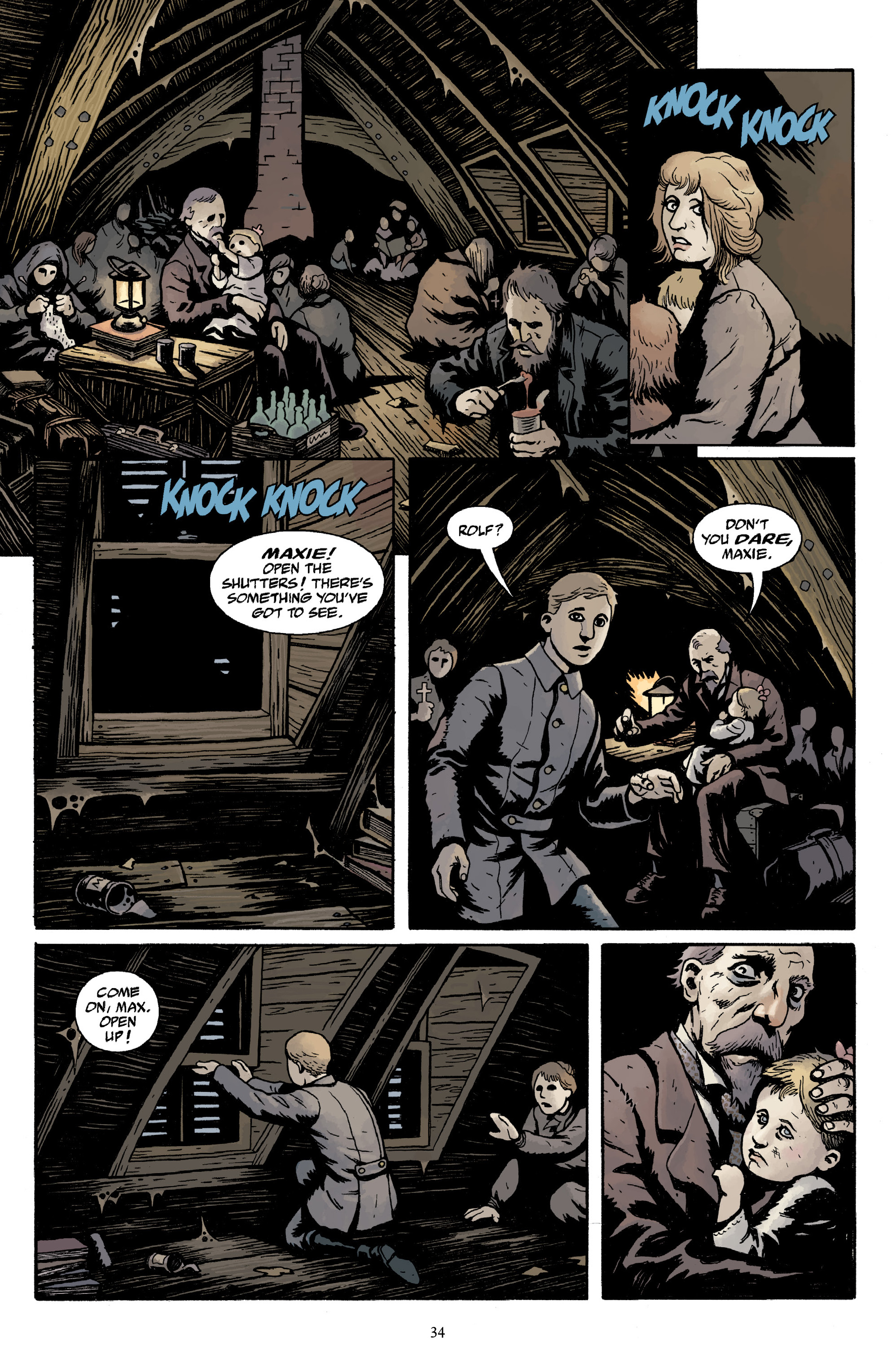 Read online Baltimore Volume 3: A Passing Stranger and Other Stories comic -  Issue # Full - 36
