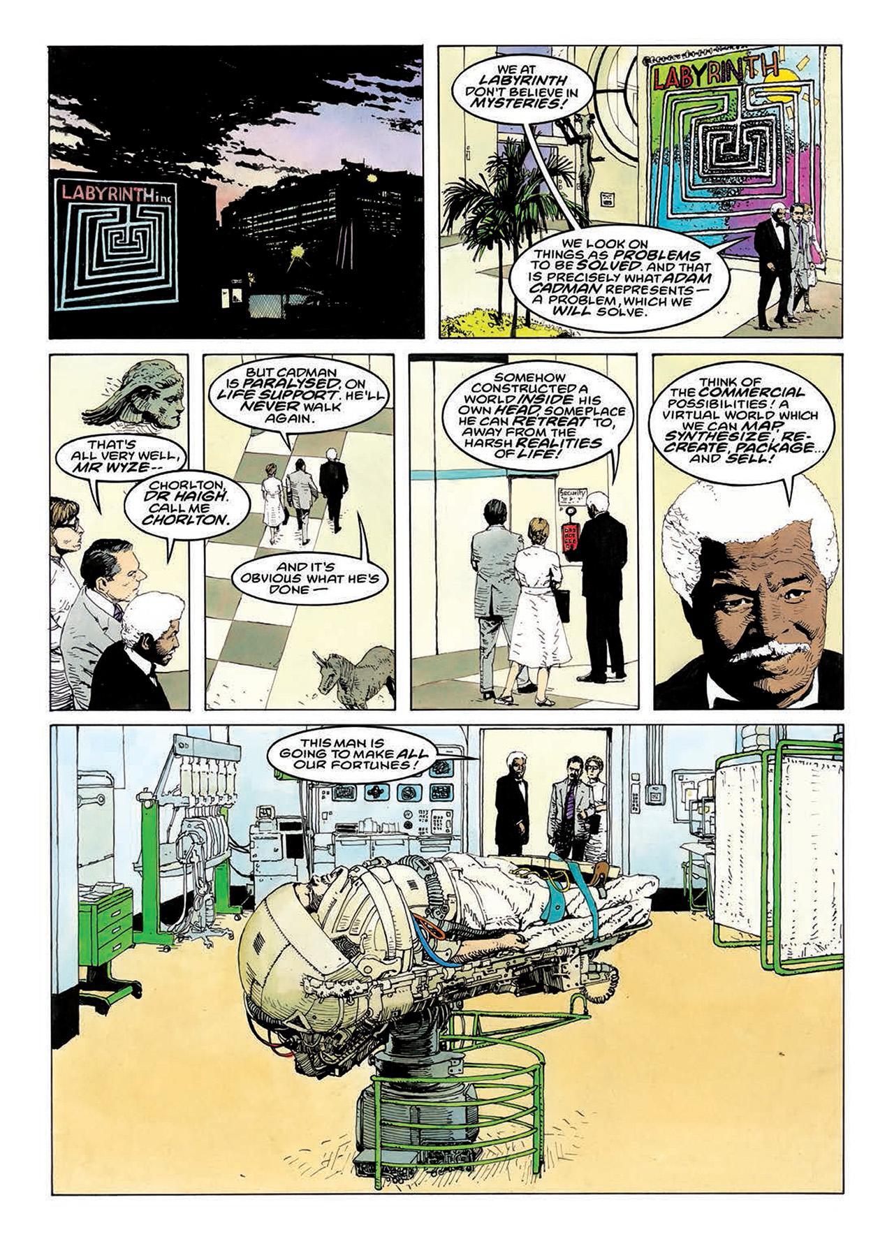 Read online Mazeworld comic -  Issue # TPB - 127