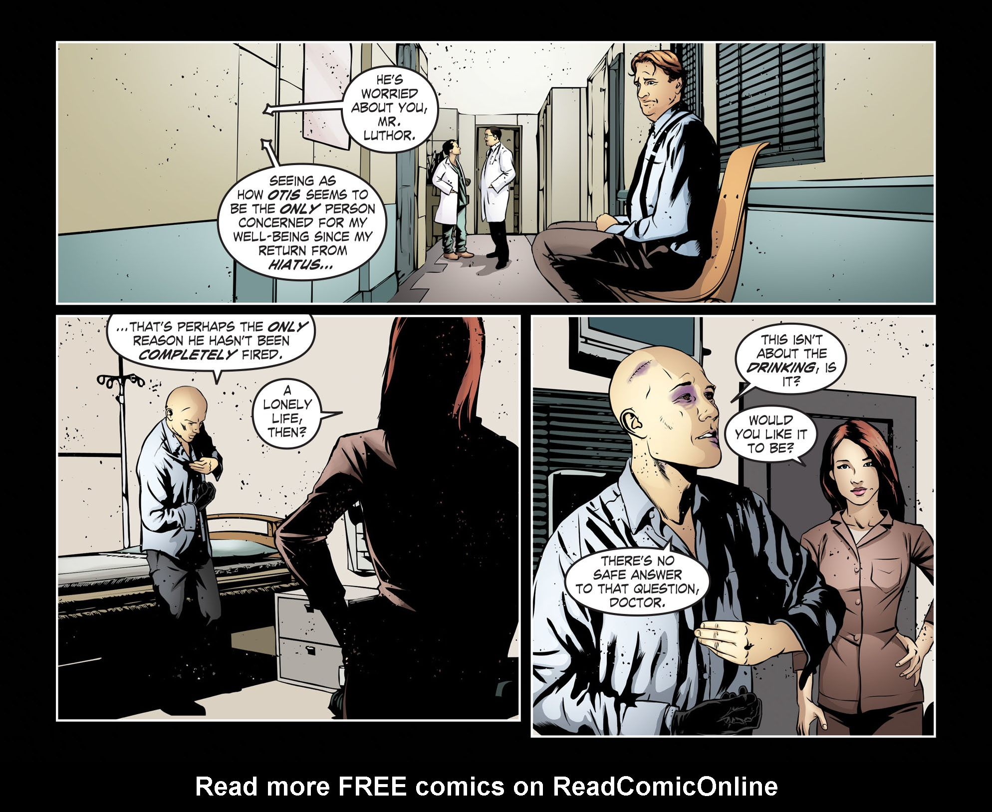 Read online Smallville: Season 11 comic -  Issue #55 - 5