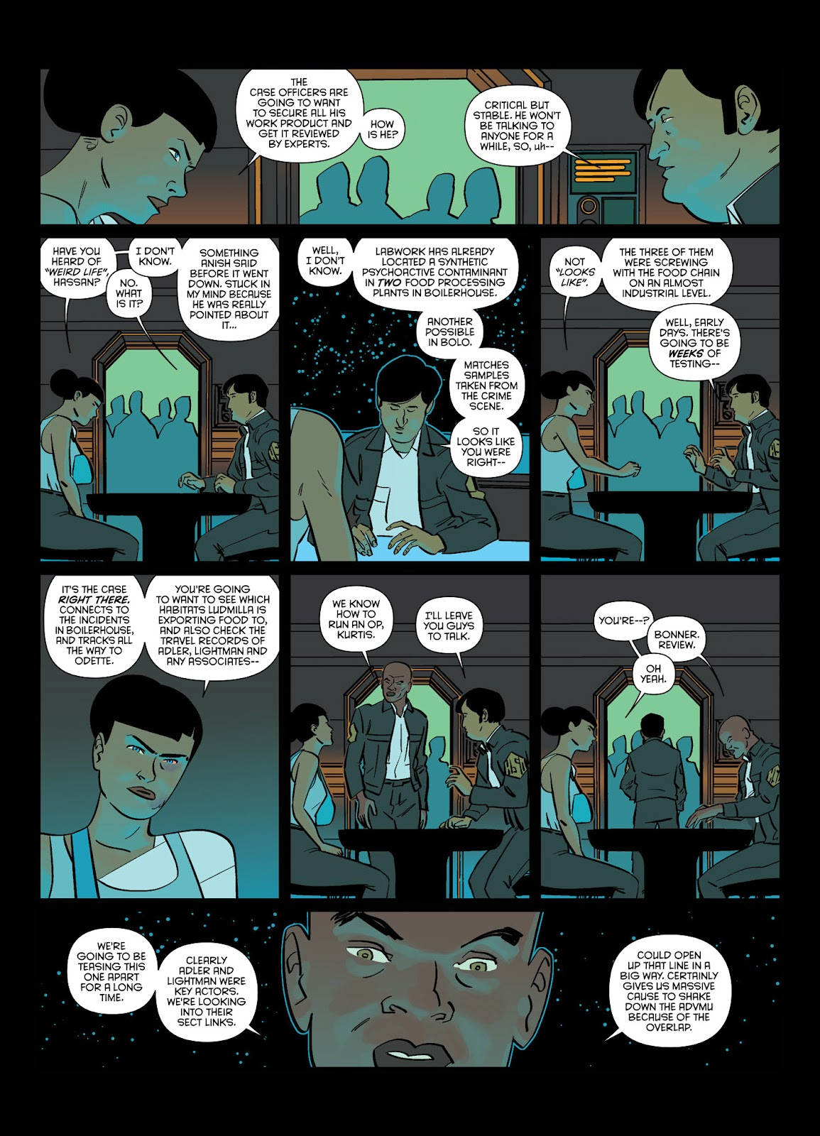 Read online Brink comic -  Issue # TPB 1 - 77