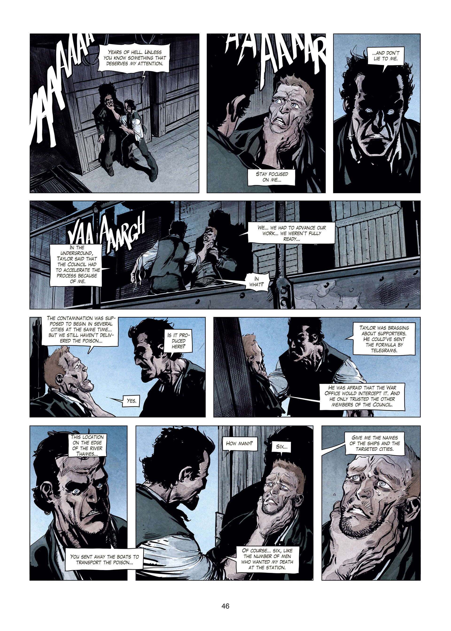 Read online Sherlock Holmes Society Tome 4 : Contamination comic -  Issue # Full - 46
