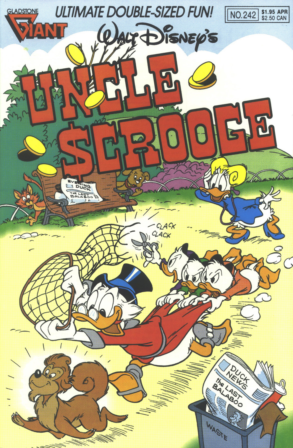 Read online Uncle Scrooge (1953) comic -  Issue #242 - 1