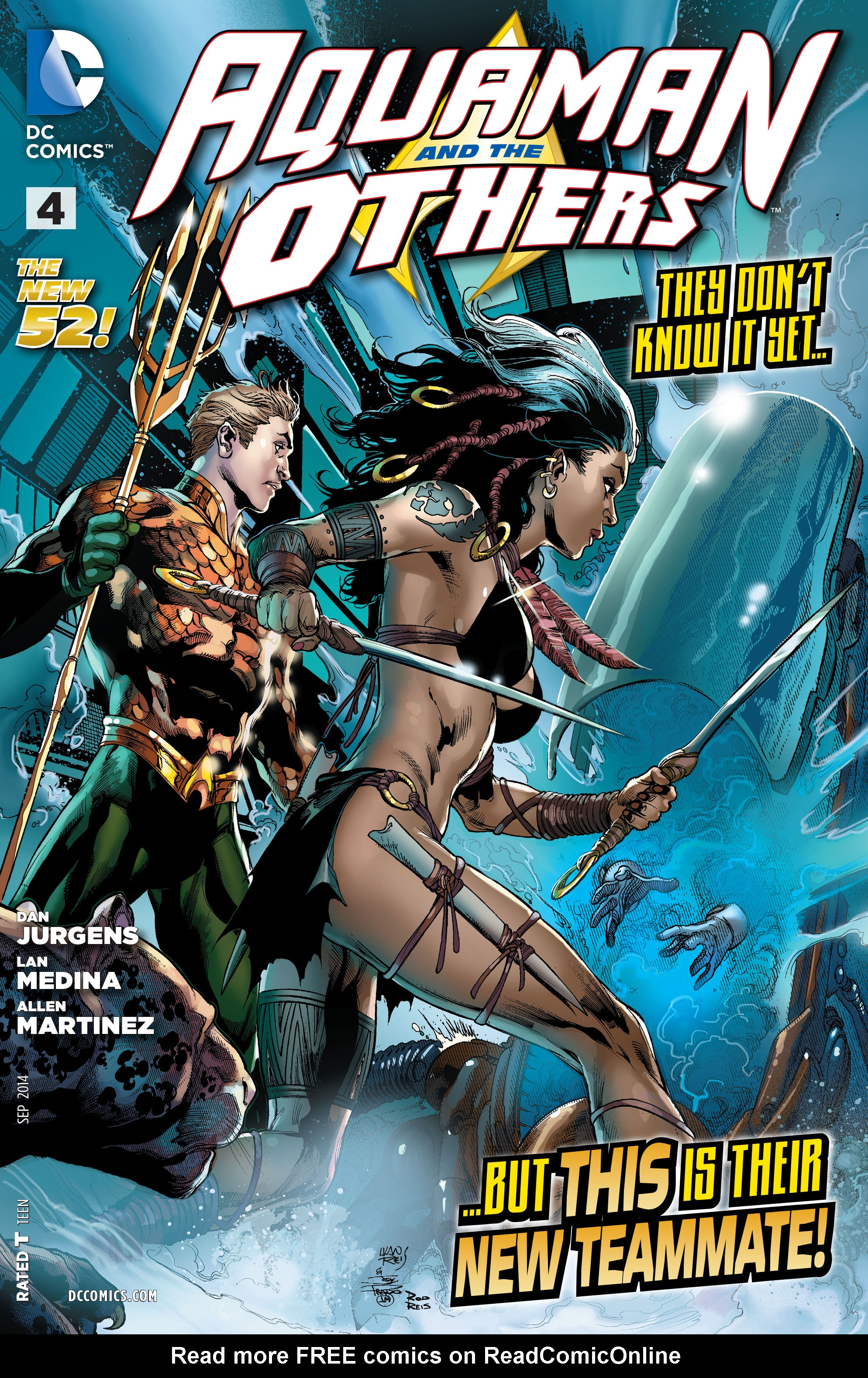 Read online Aquaman and the Others comic -  Issue #4 - 1