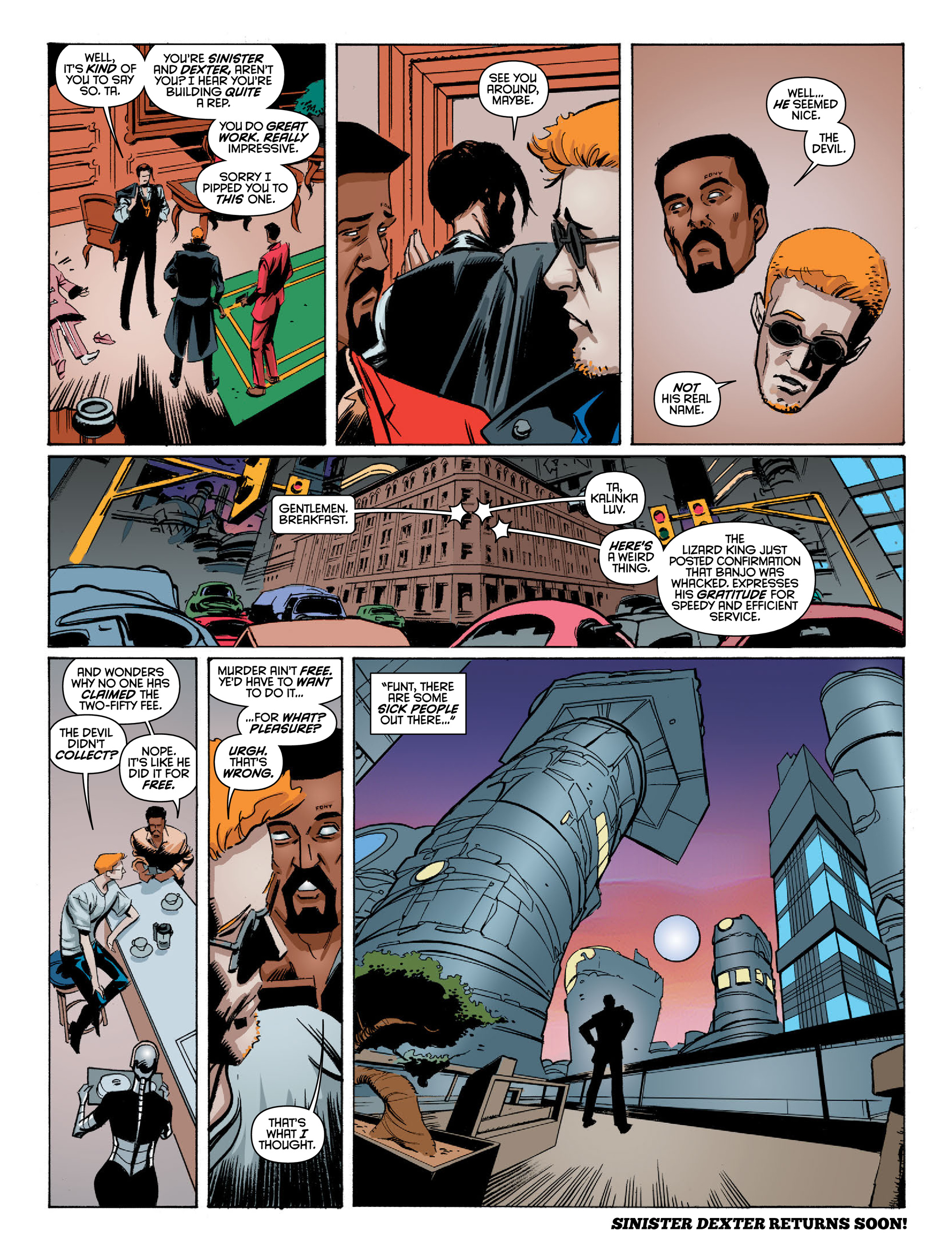 Read online 2000 AD comic -  Issue #2022 - 13