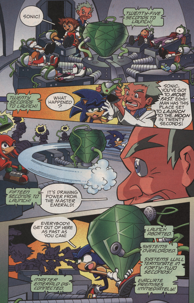 Read online Sonic X comic -  Issue #11 - 32