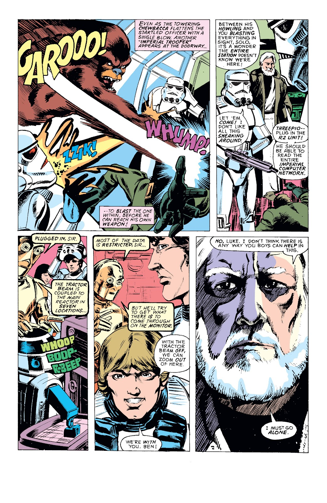 Read online Star Wars Legends: The Original Marvel Years - Epic Collection comic -  Issue # TPB 1 (Part 1) - 54