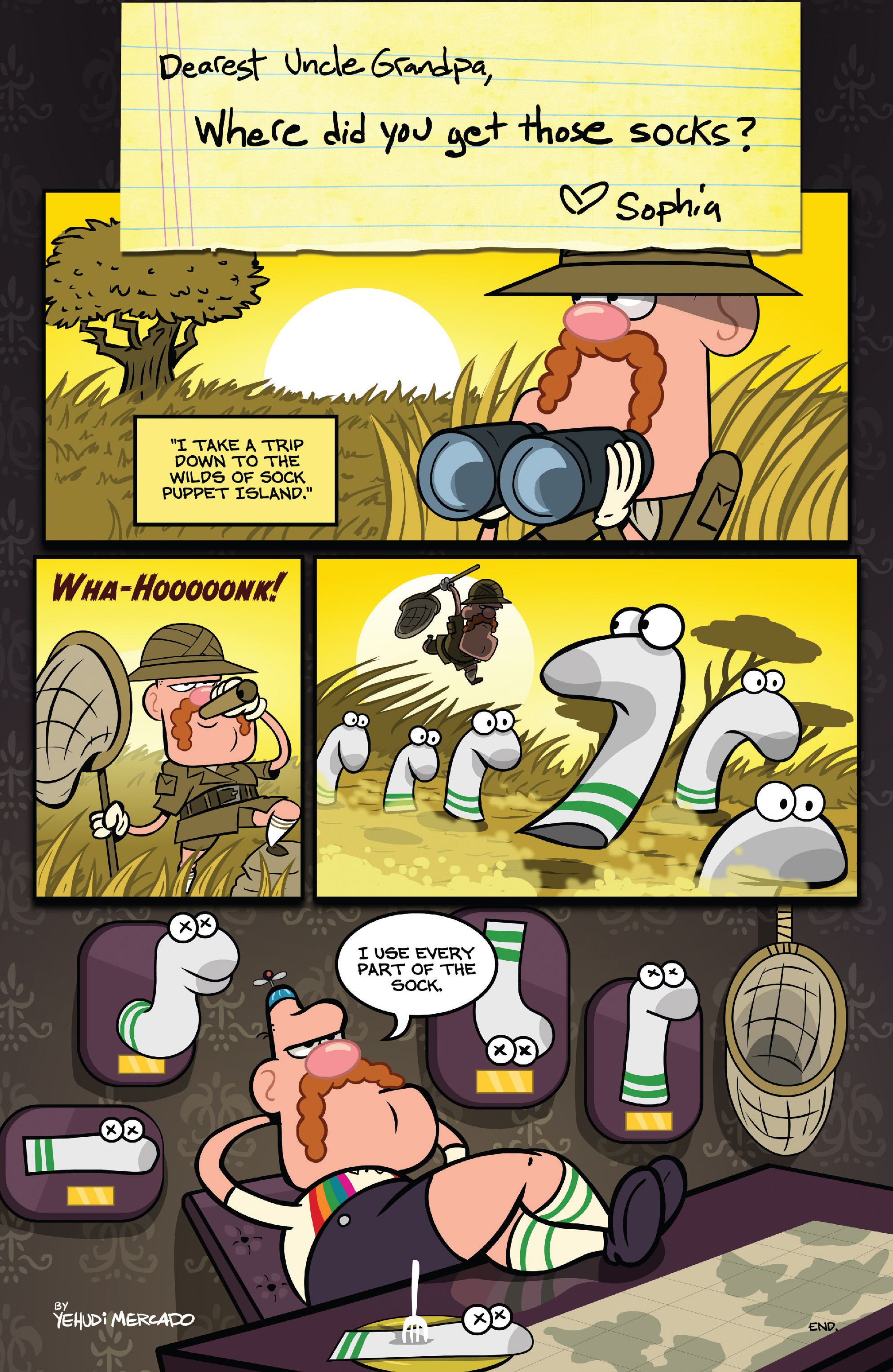 Read online Uncle Grandpa comic -  Issue #4 - 24