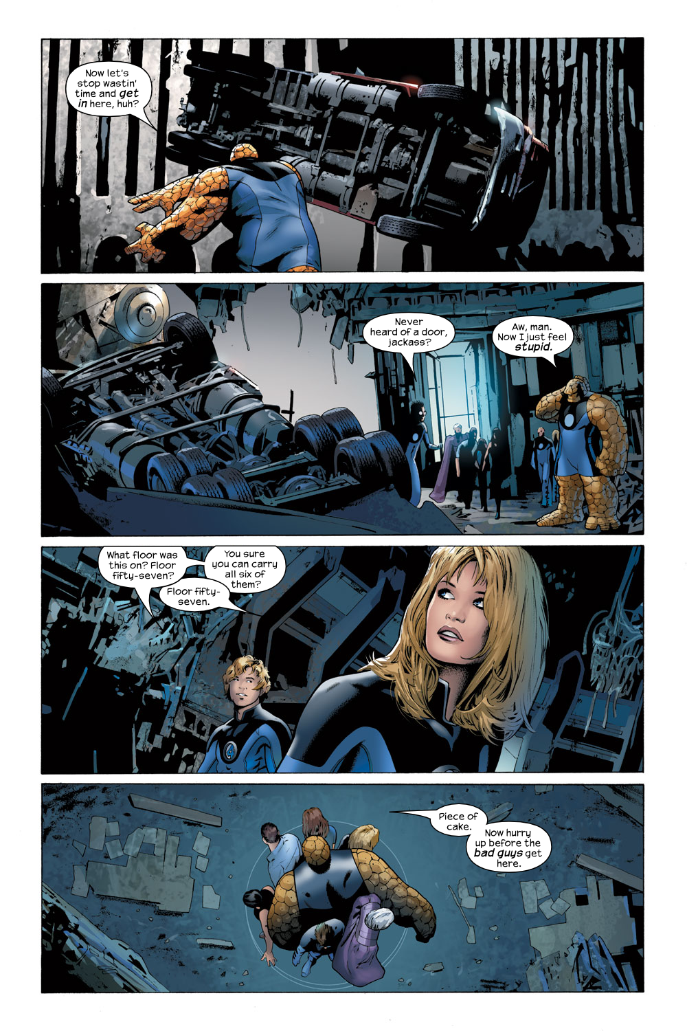Read online Ultimate Fantastic Four (2004) comic -  Issue #23 - 19