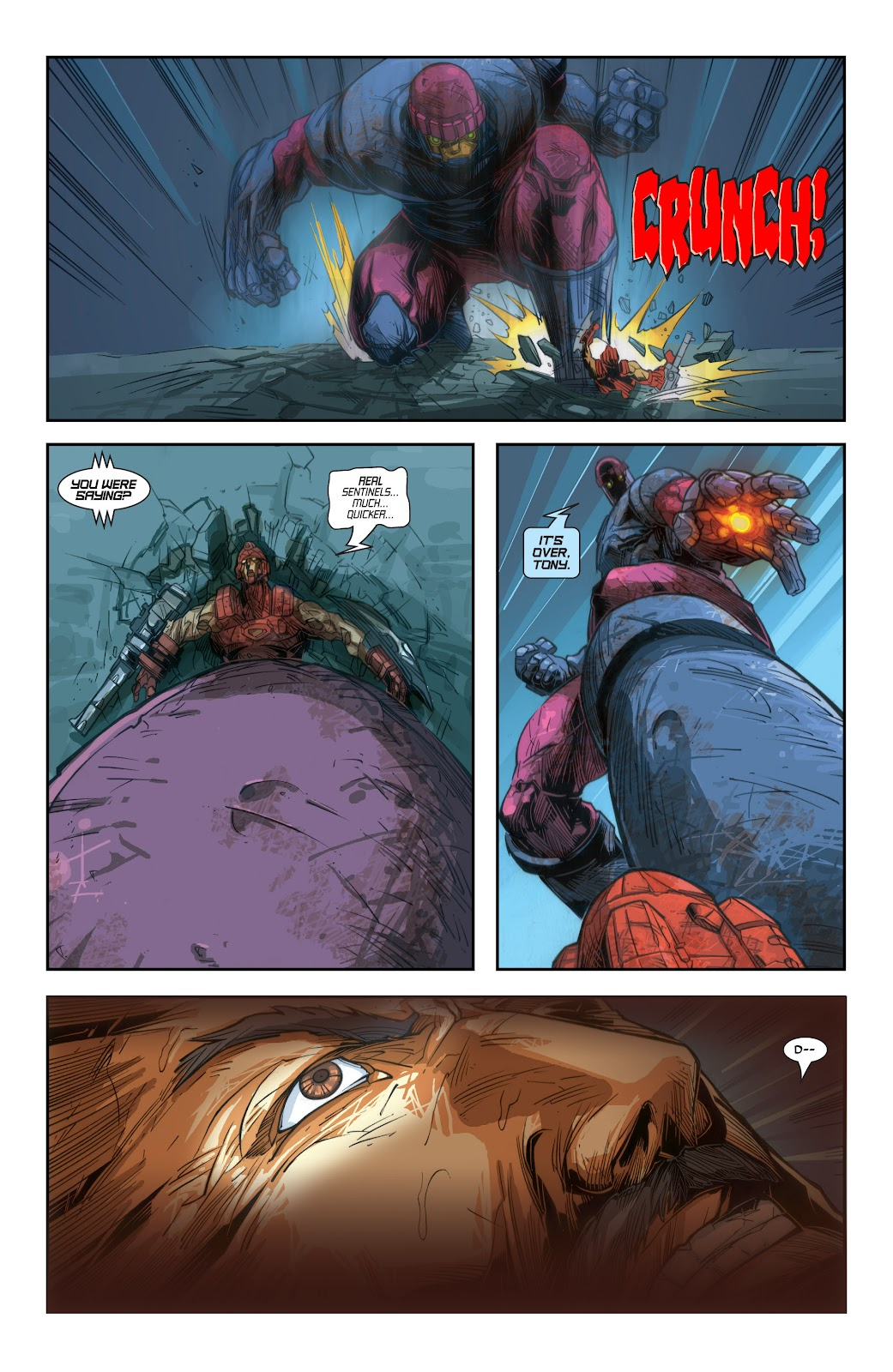 Iron Man: House of M Issue #1 #1 - English 23
