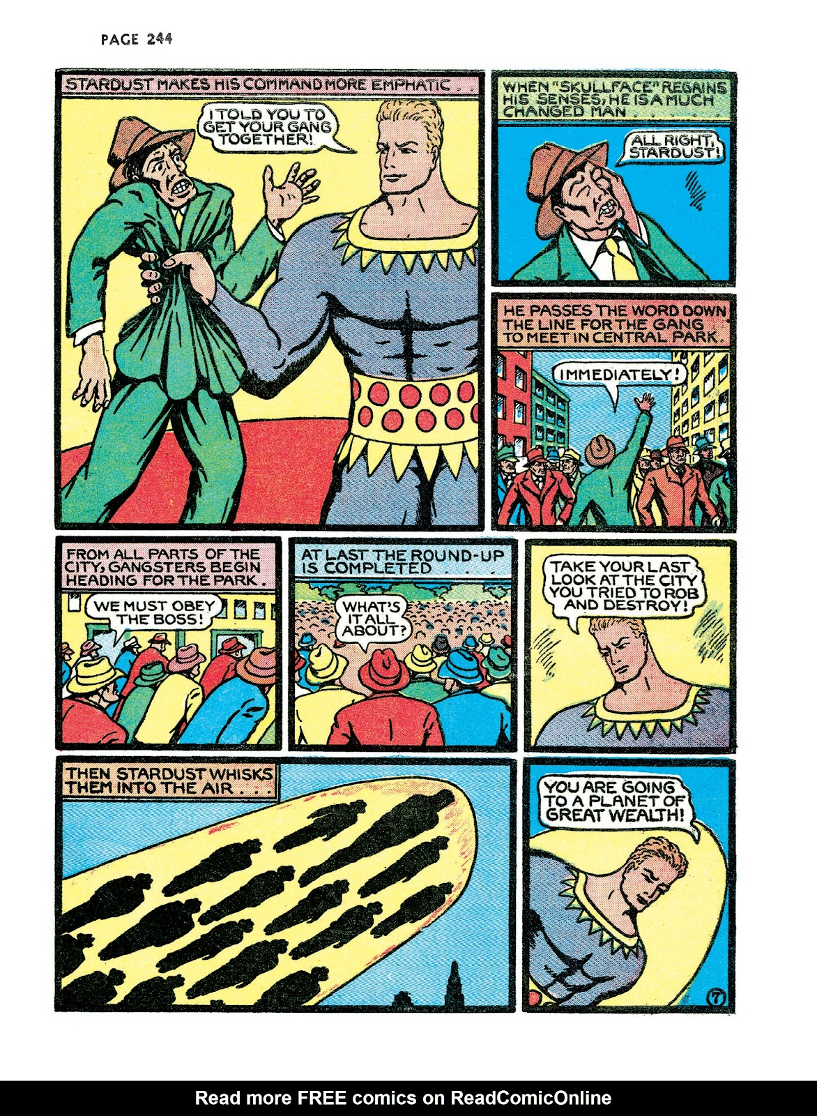 Turn Loose Our Death Rays and Kill Them All!: The Complete Works of Fletcher Hanks issue TPB_(Part_3) - Page 76
