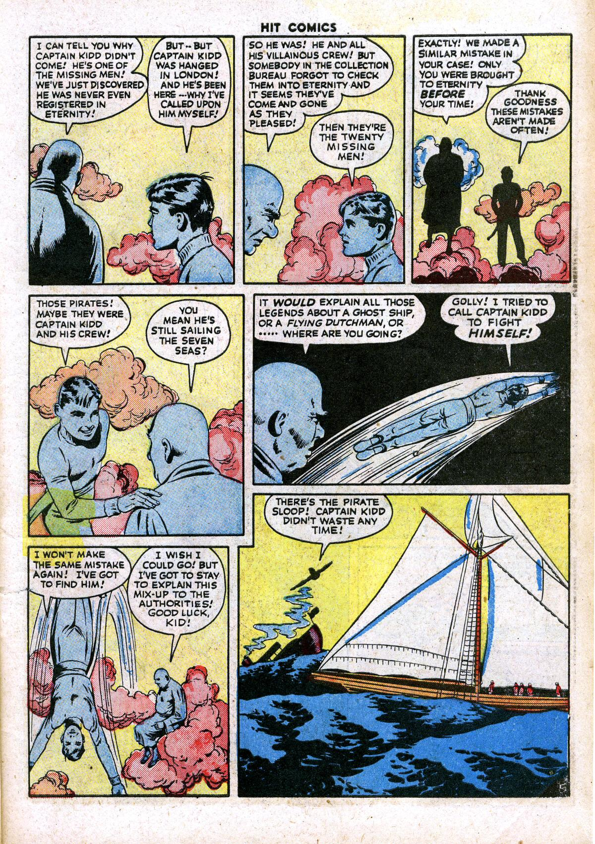 Read online Hit Comics comic -  Issue #41 - 7