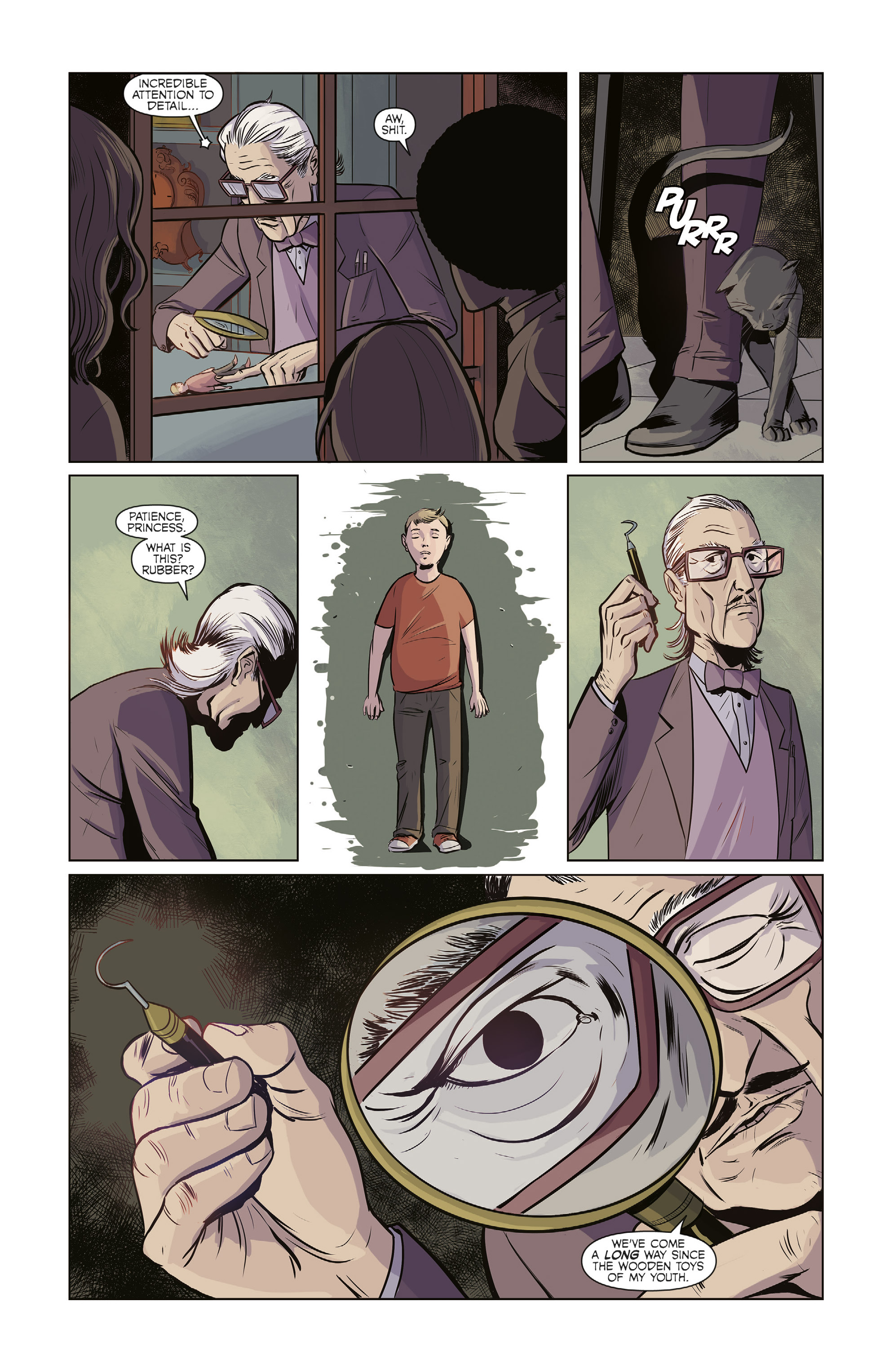 Read online Colossi comic -  Issue #2 - 12