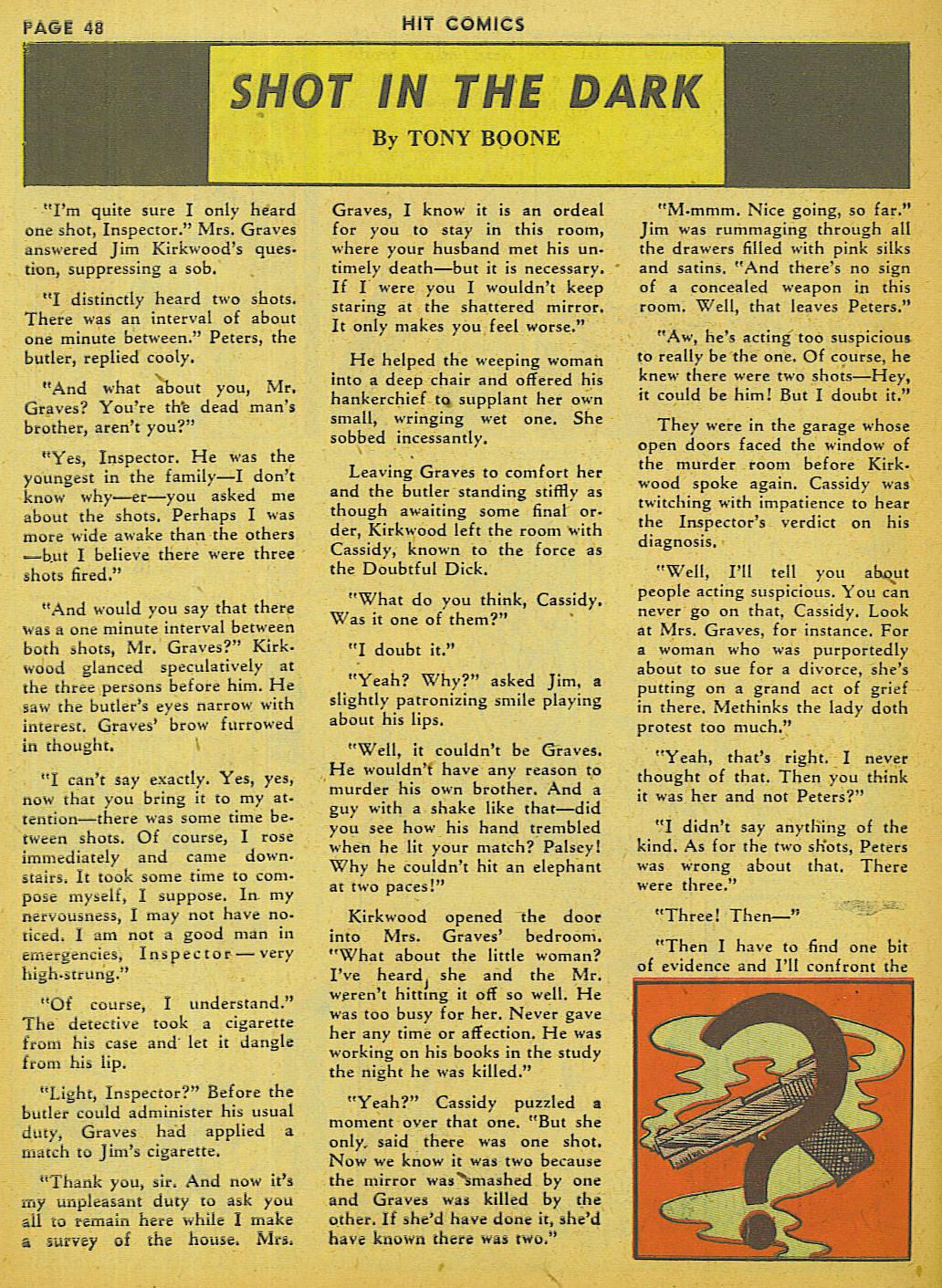 Read online Hit Comics comic -  Issue #13 - 50