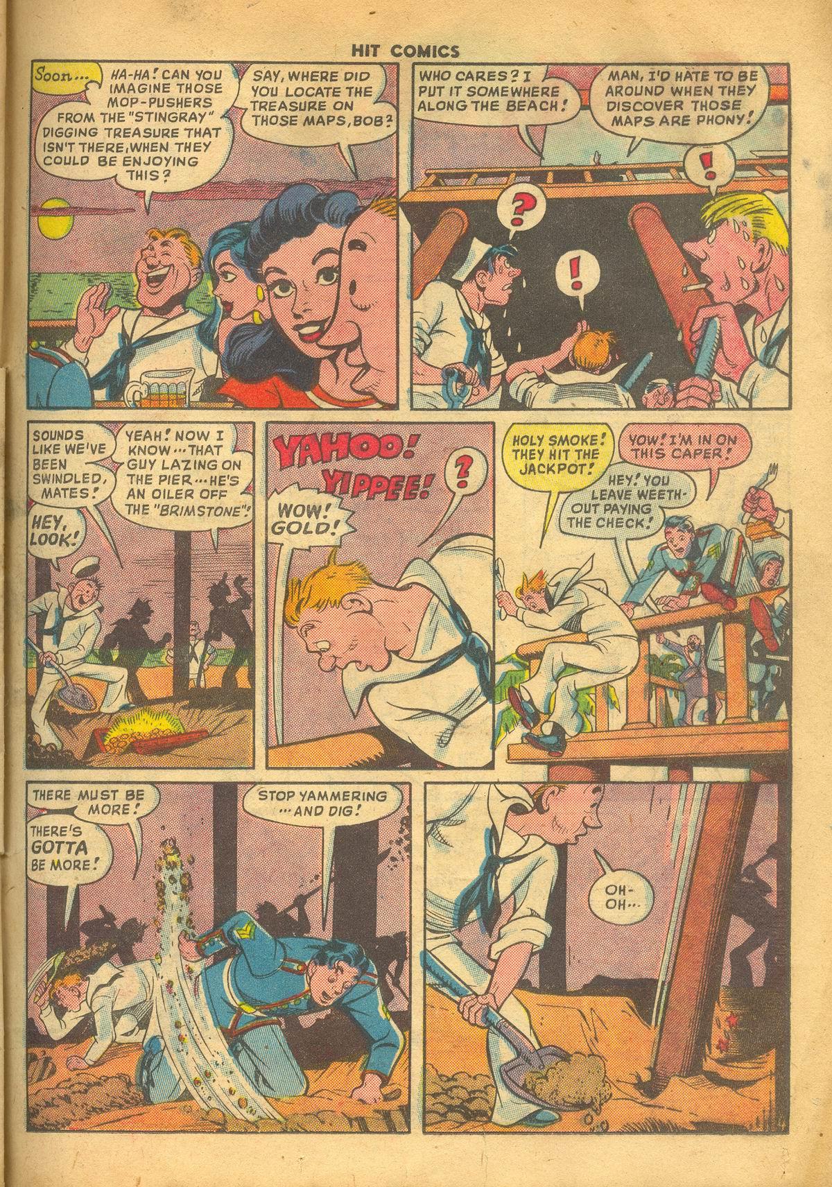 Read online Hit Comics comic -  Issue #60 - 25