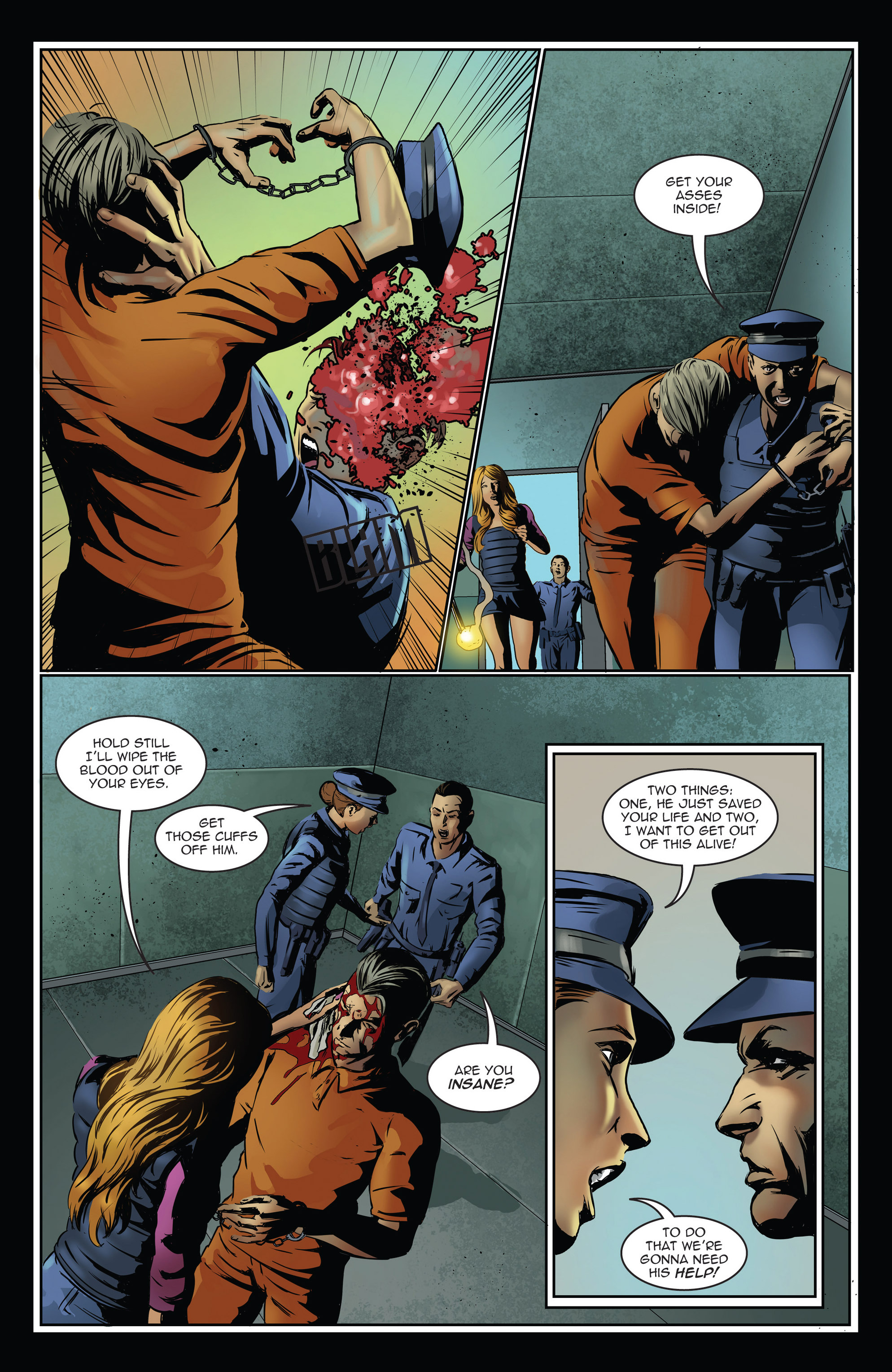 Read online Trancers comic -  Issue #3 - 8