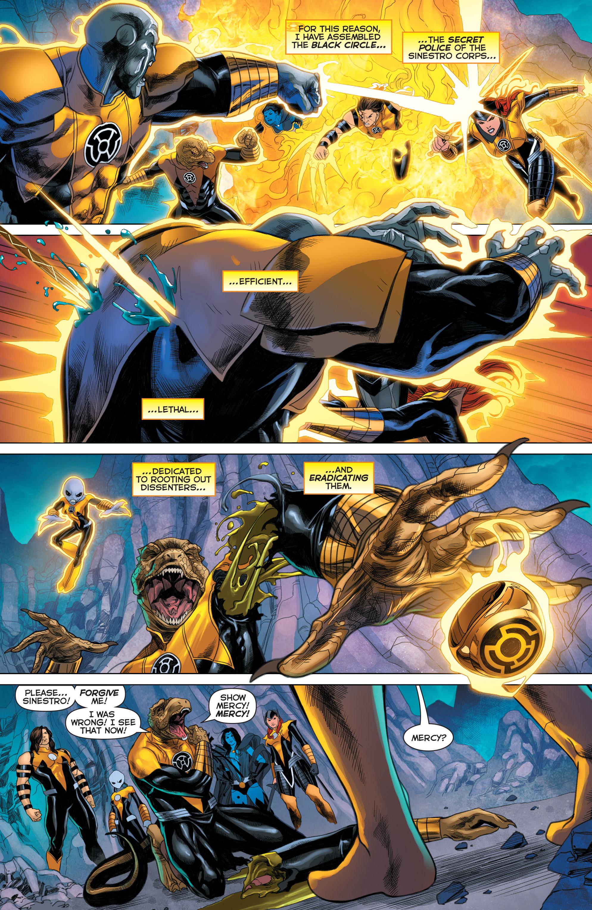 Read online Sinestro comic -  Issue #22 - 13