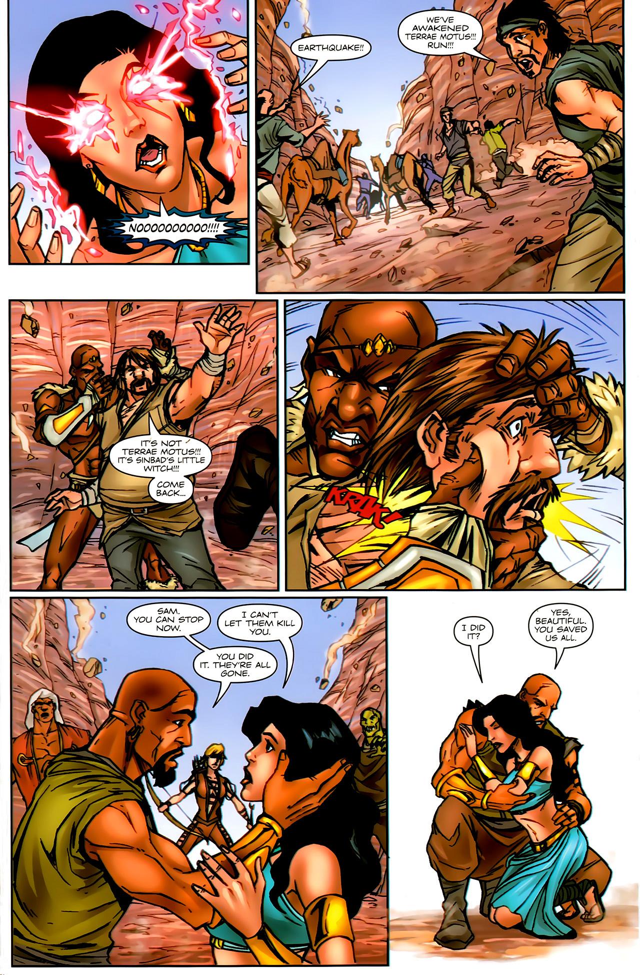 Read online 1001 Arabian Nights: The Adventures of Sinbad comic -  Issue #9 - 20