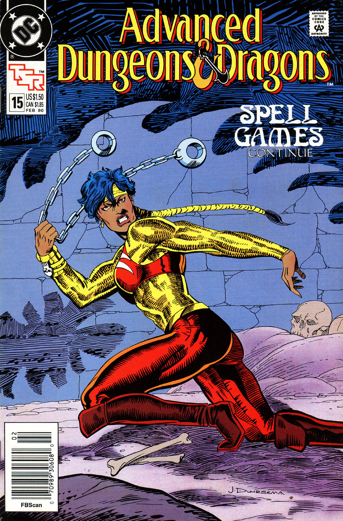 Read online Advanced Dungeons & Dragons comic -  Issue #15 - 1