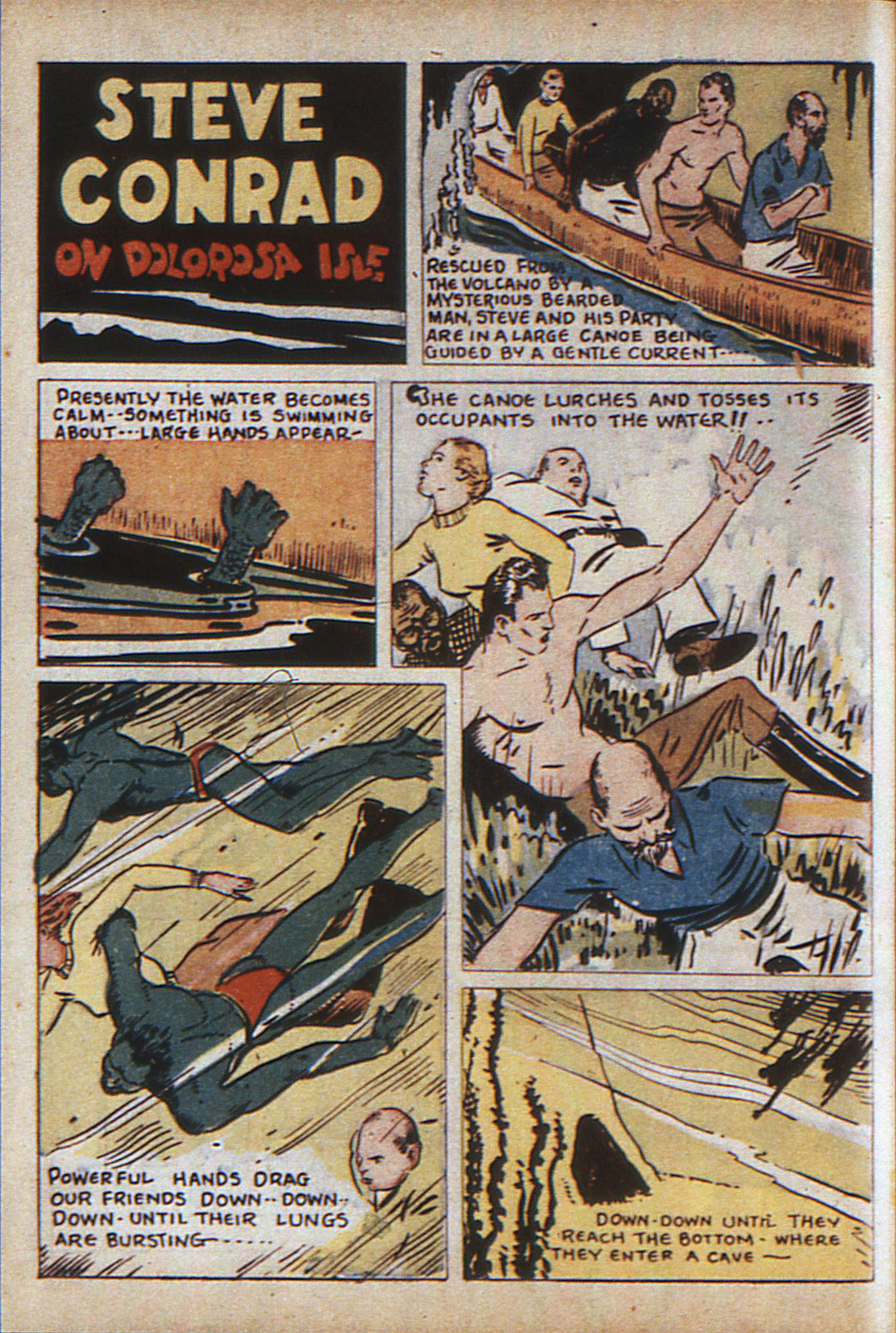 Read online Adventure Comics (1938) comic -  Issue #9 - 51