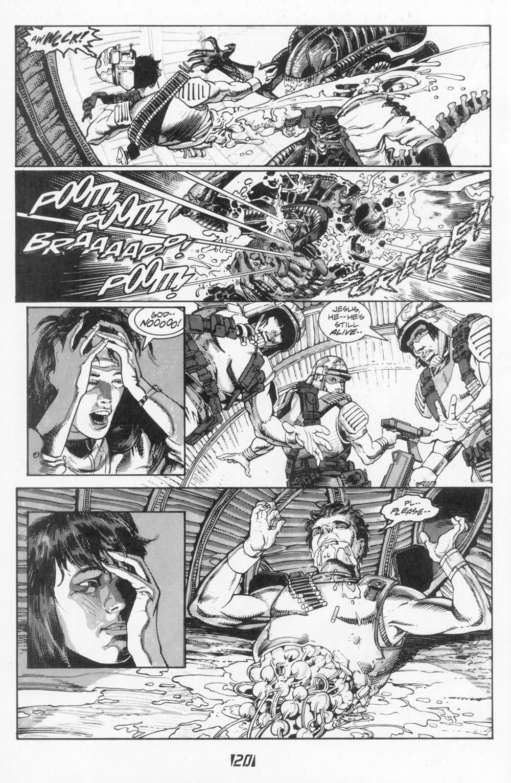 Read online Aliens (1988) comic -  Issue #5 - 22