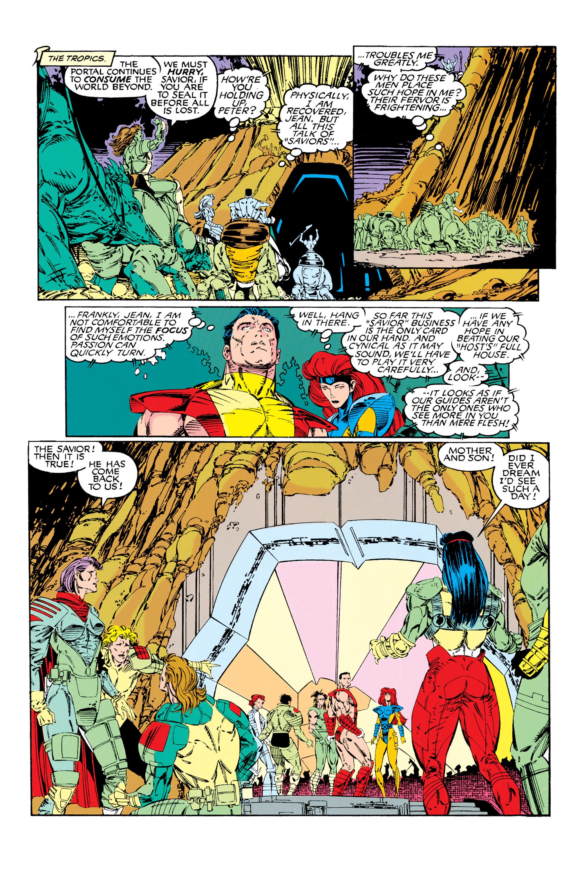 Read online Uncanny X-Men (1963) comic -  Issue #285 - 14
