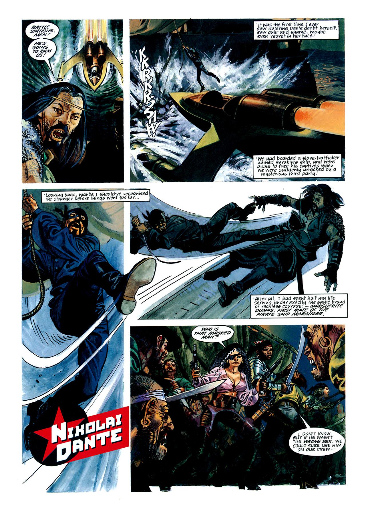 Read online Nikolai Dante comic -  Issue # TPB 3 - 43