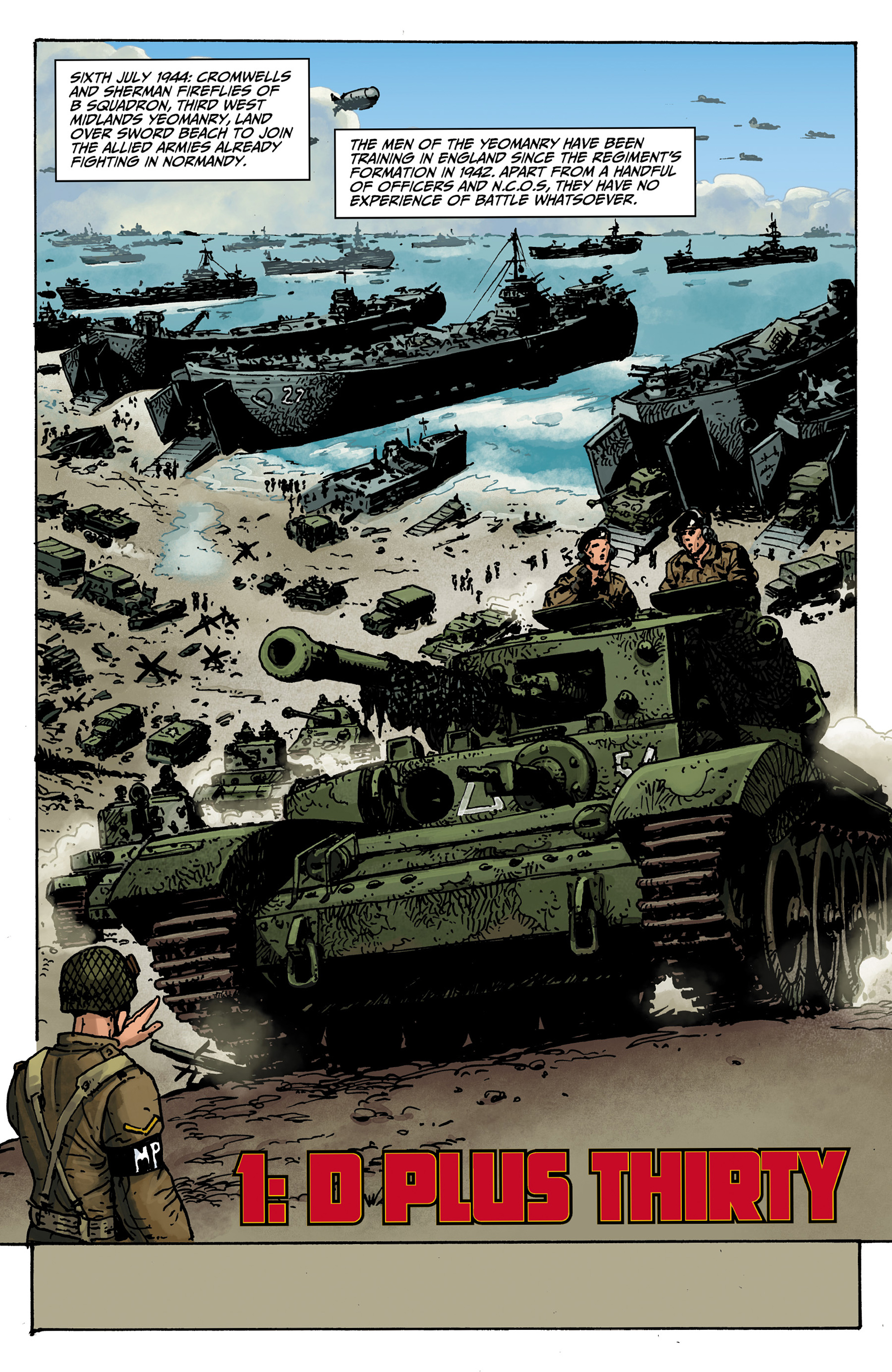 Read online World of Tanks comic -  Issue #1 - 3
