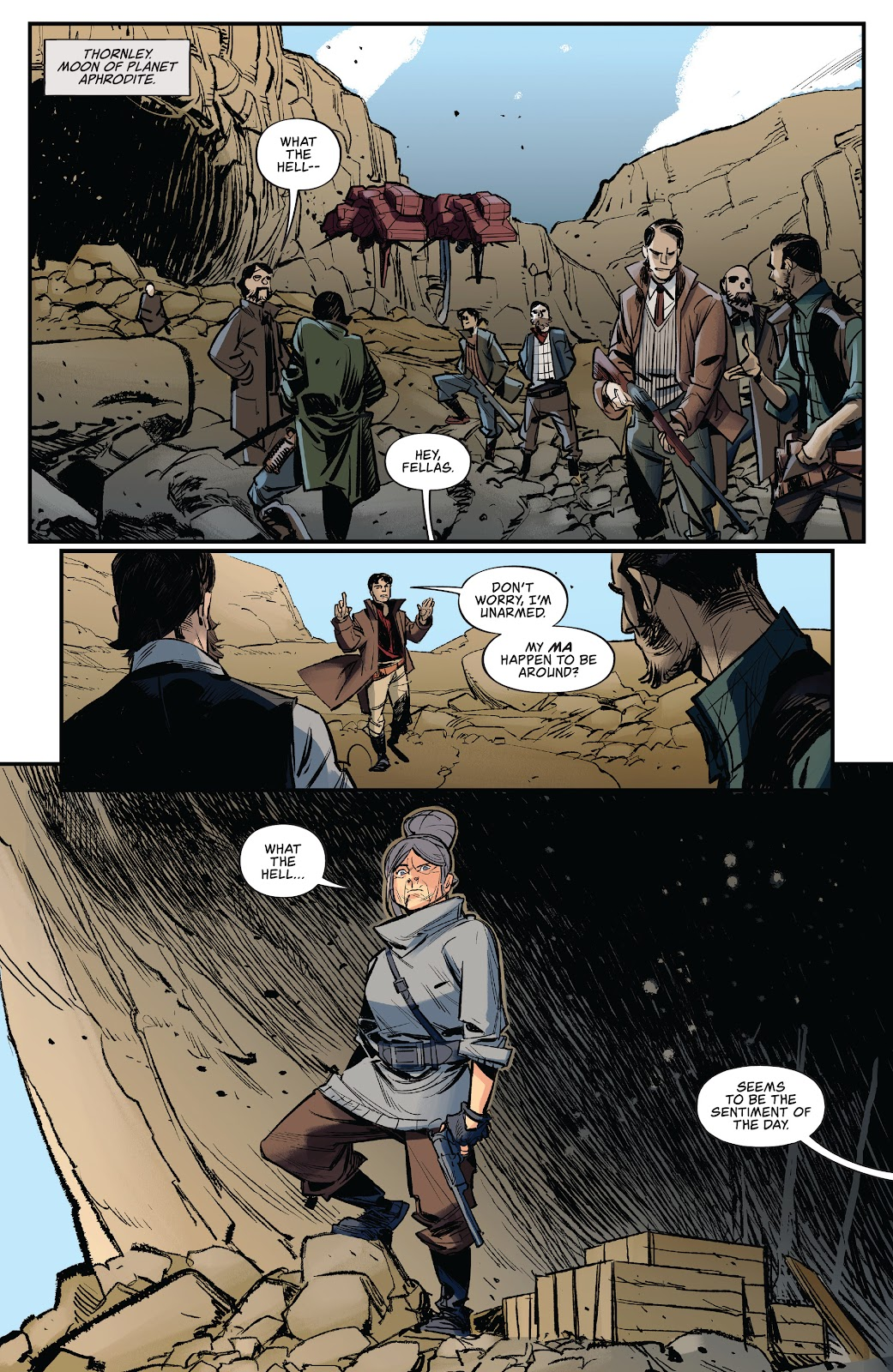 Read online Firefly: The Outlaw Ma Reynolds comic -  Issue # Full - 12