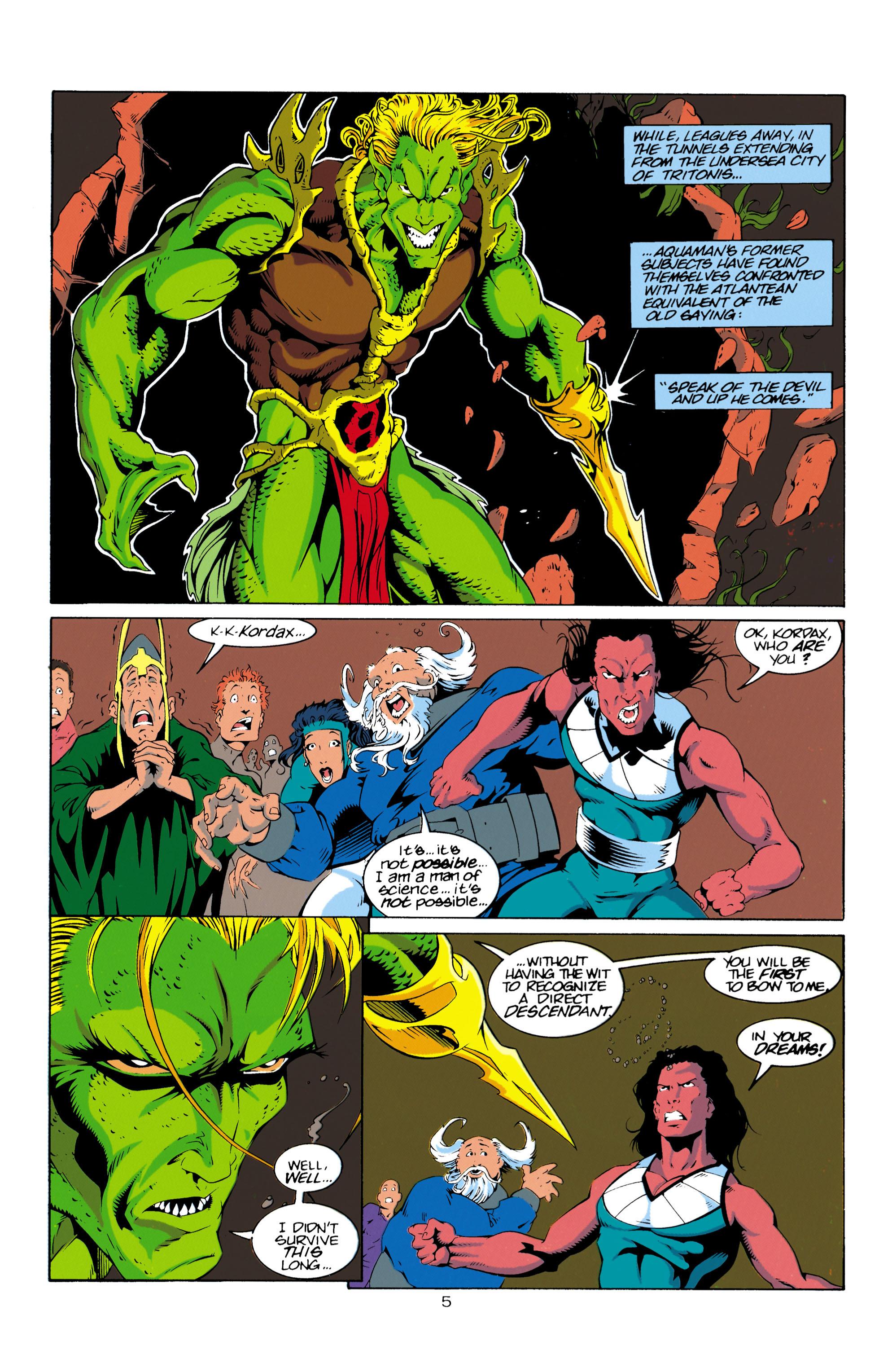 Read online Aquaman (1994) comic -  Issue #16 - 6