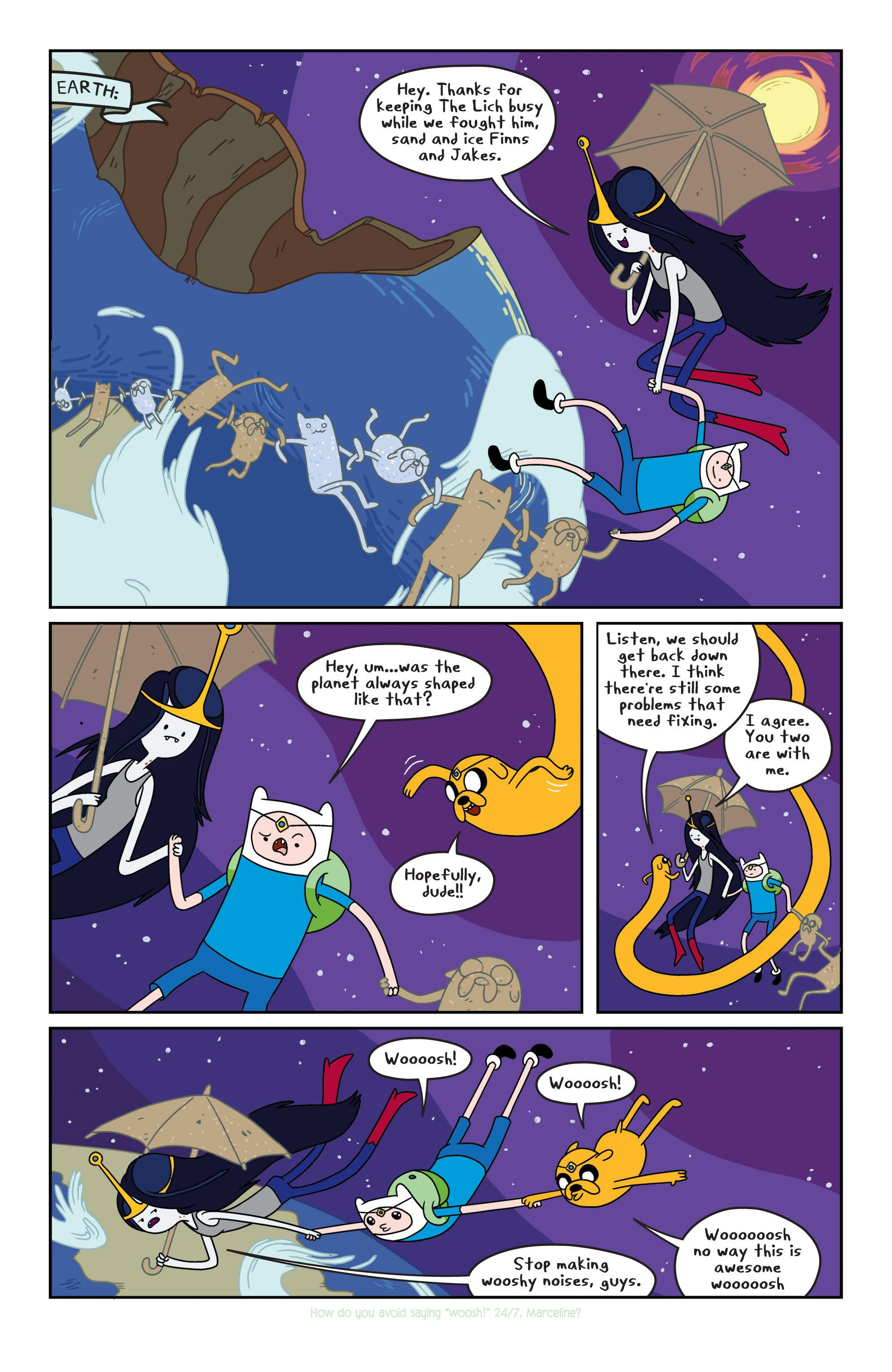 Read online Adventure Time comic -  Issue #4 - 6
