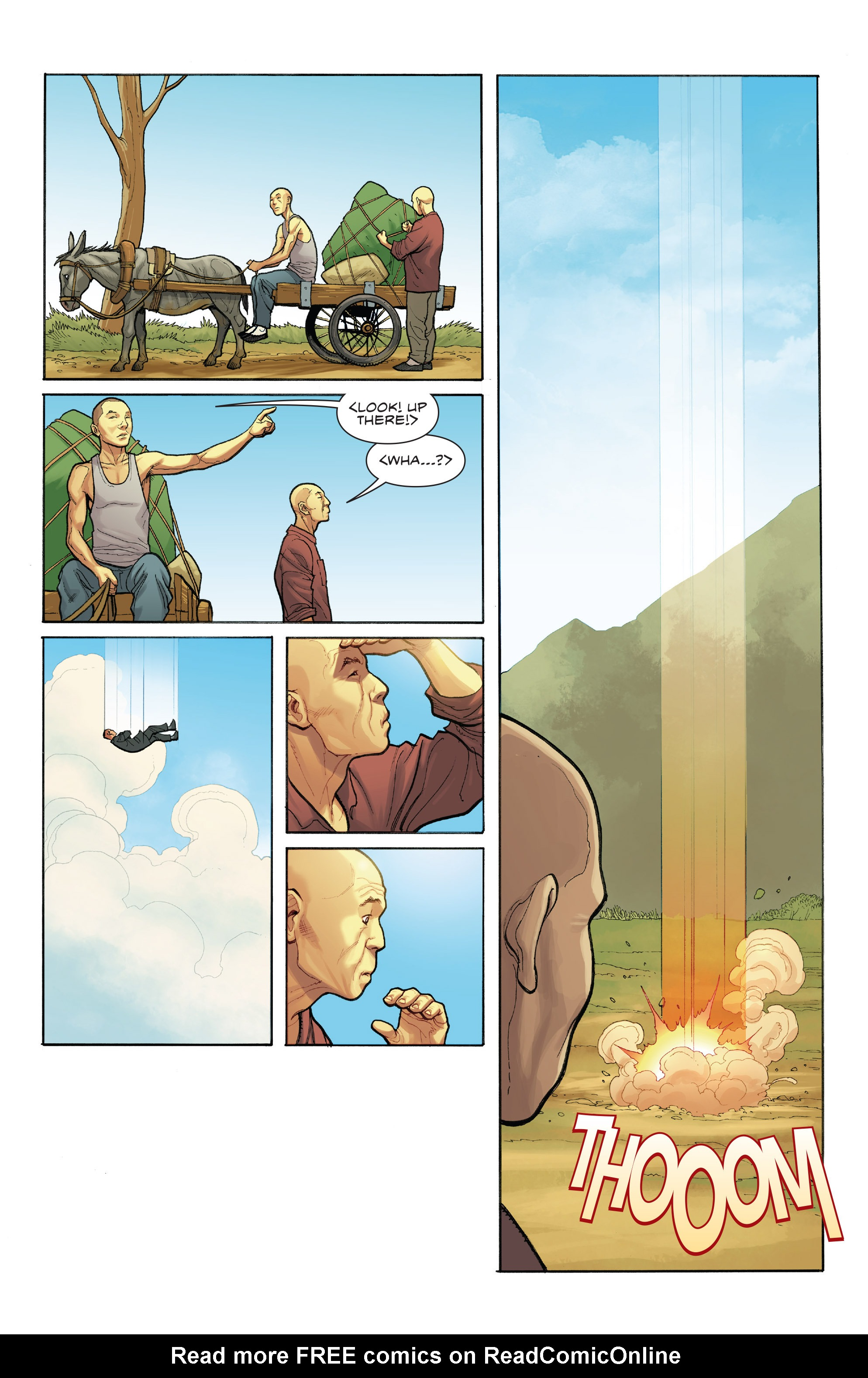 Read online Skybourne comic -  Issue #1 - 4