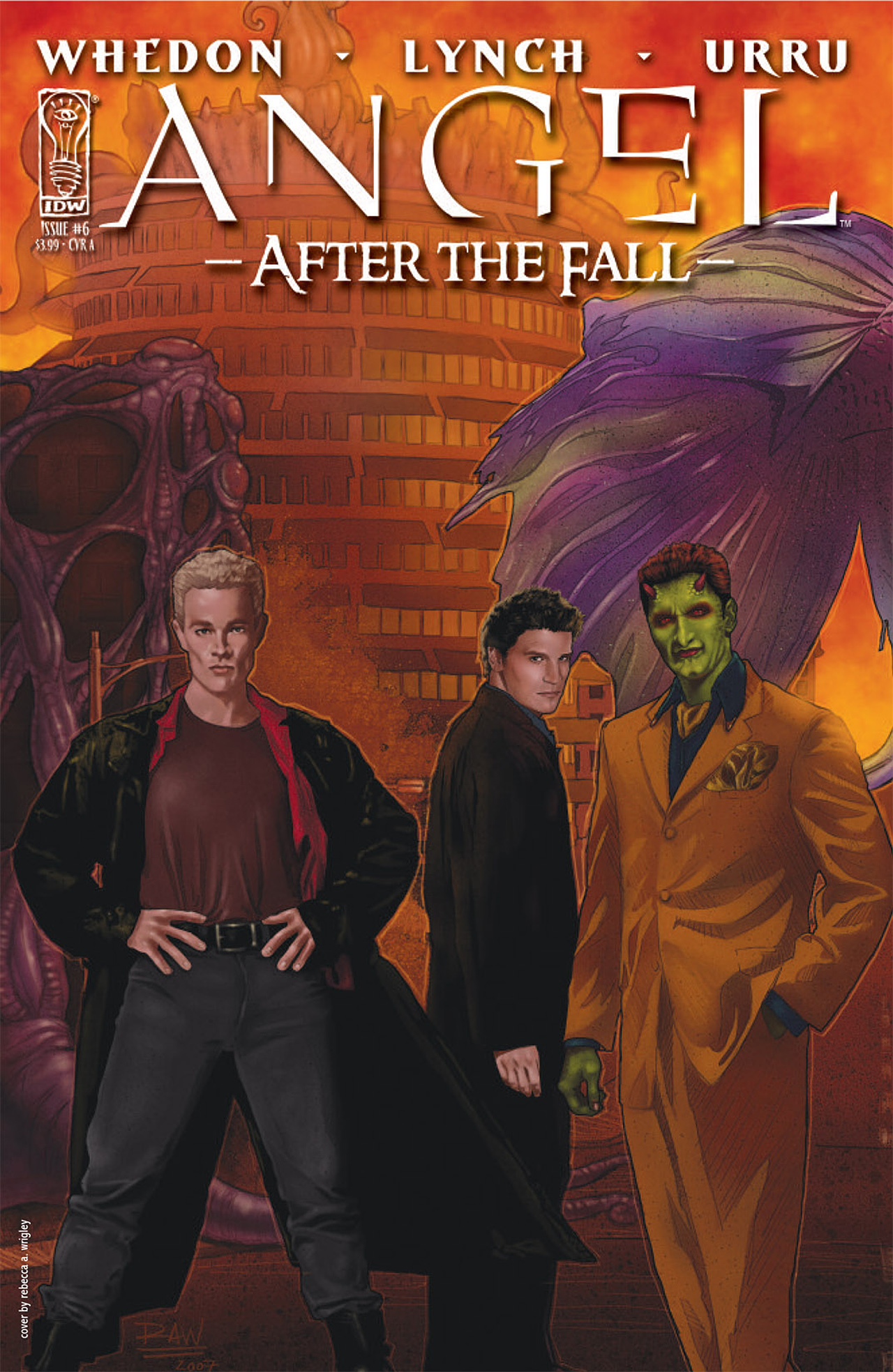 Read online Angel: After The Fall comic -  Issue #6 - 1