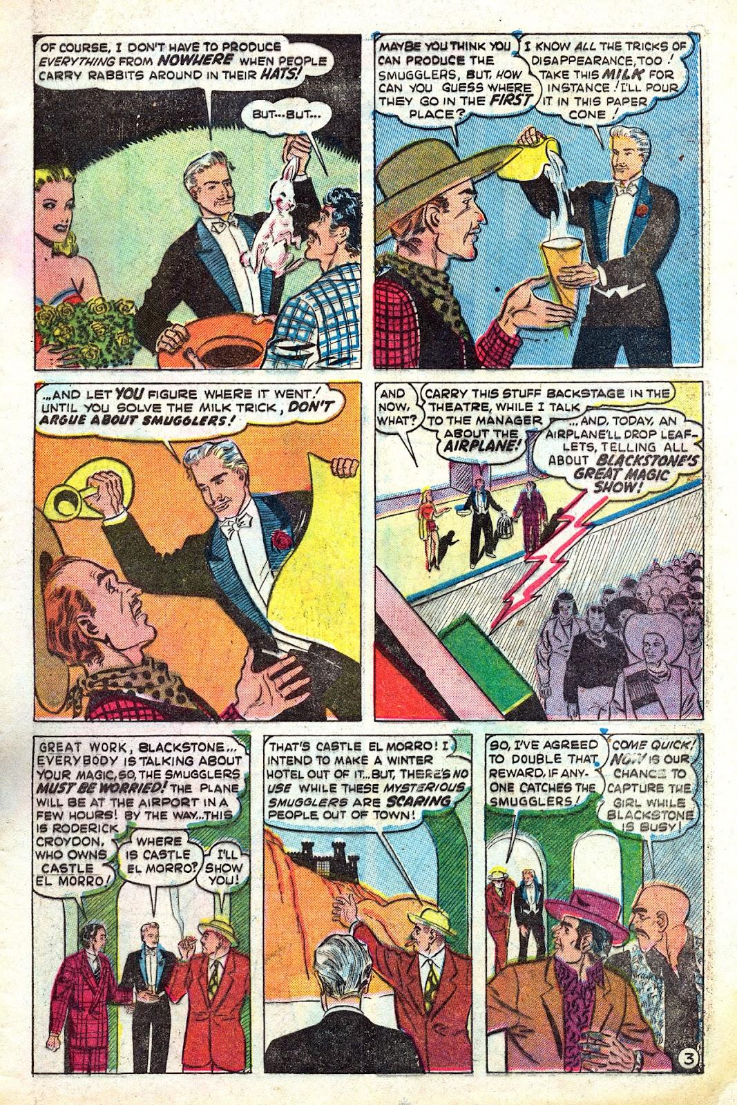 Read online Blackstone the Magician comic -  Issue #4 - 5