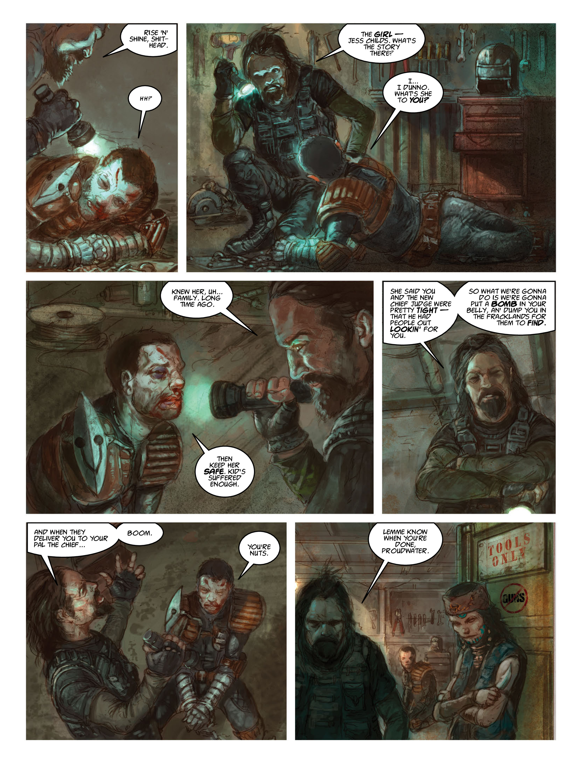 Read online 2000 AD comic -  Issue #2028 - 28