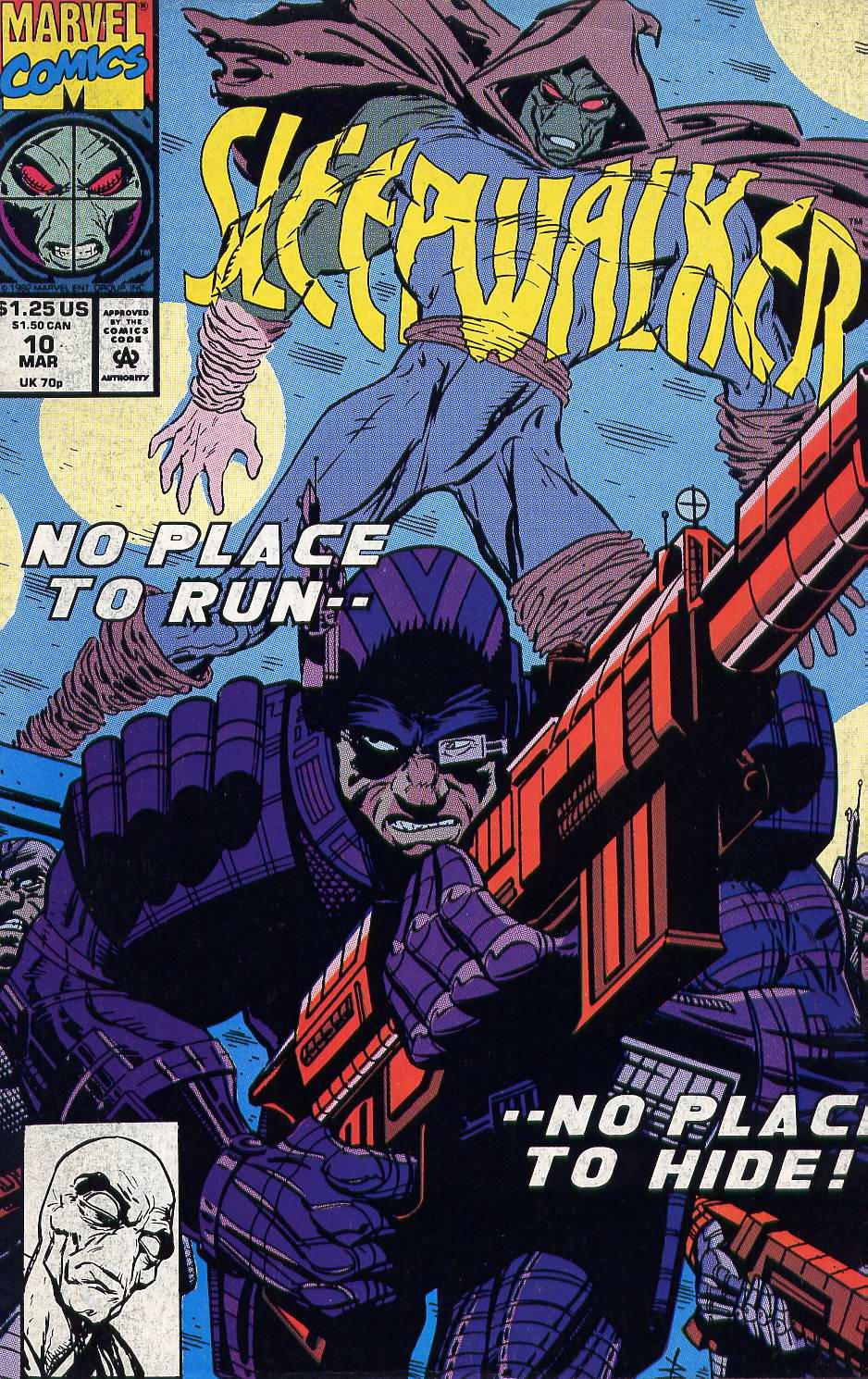 Read online Sleepwalker comic -  Issue #10 - 1