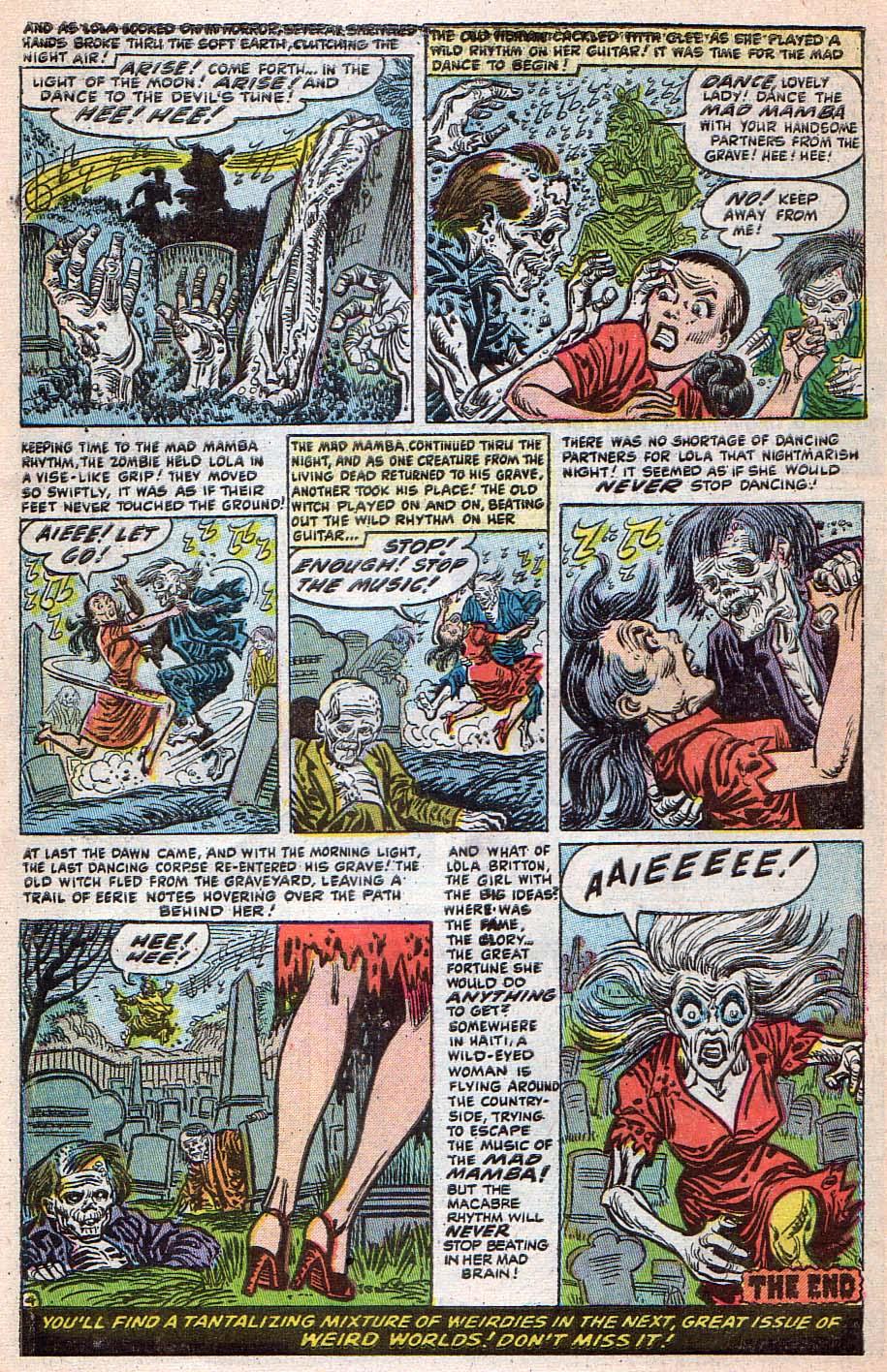 Read online Adventures into Weird Worlds comic -  Issue #25 - 11