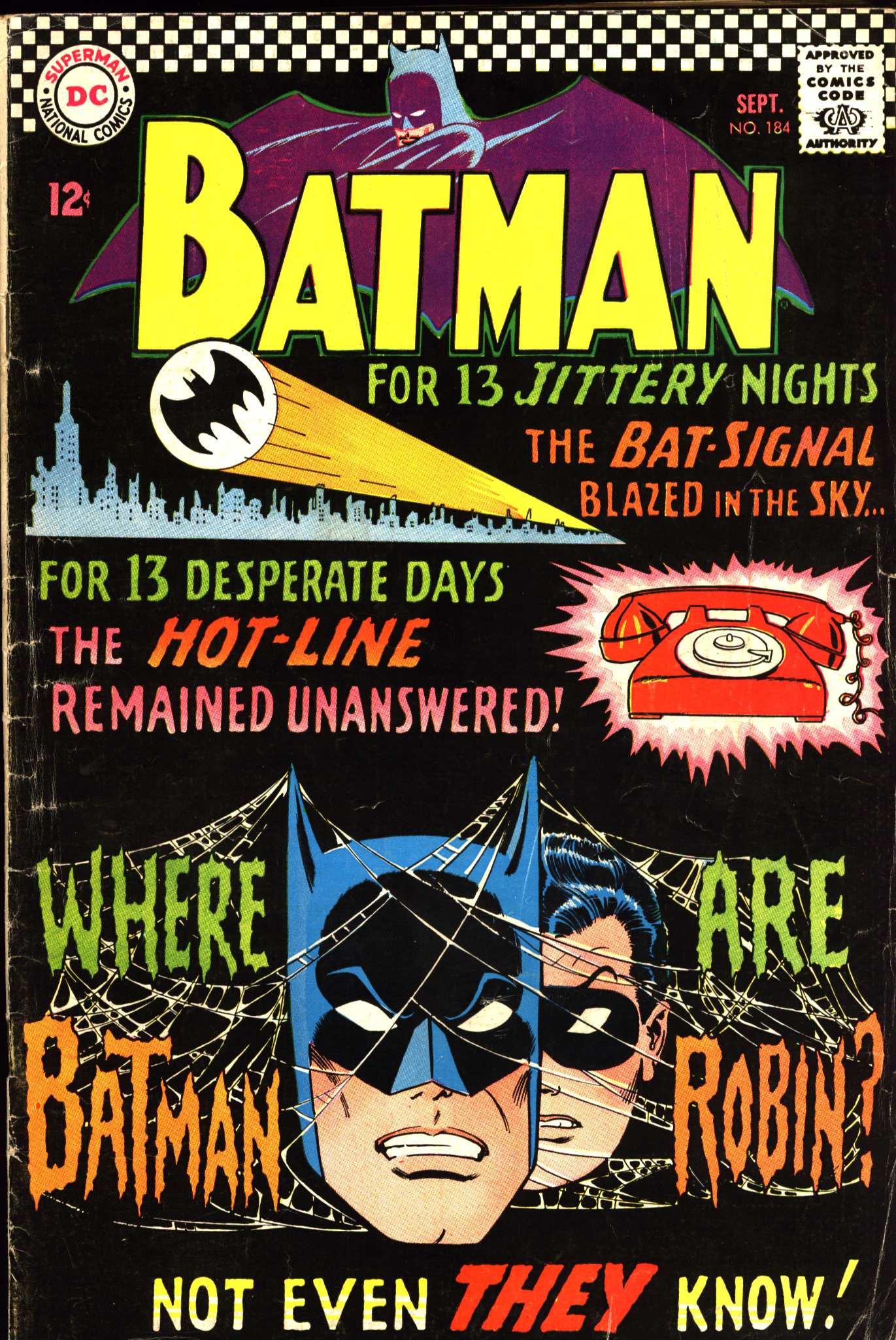 Batman (1940) 184 Page 1
