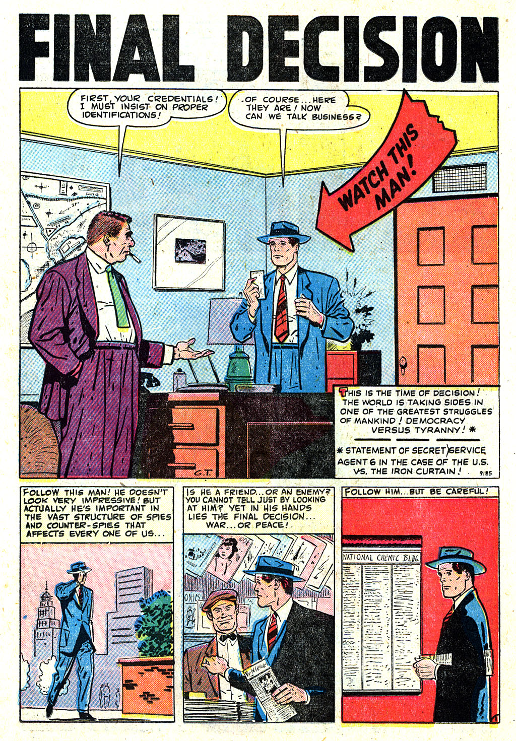 Kent Blake of the Secret Service issue 5 - Page 22