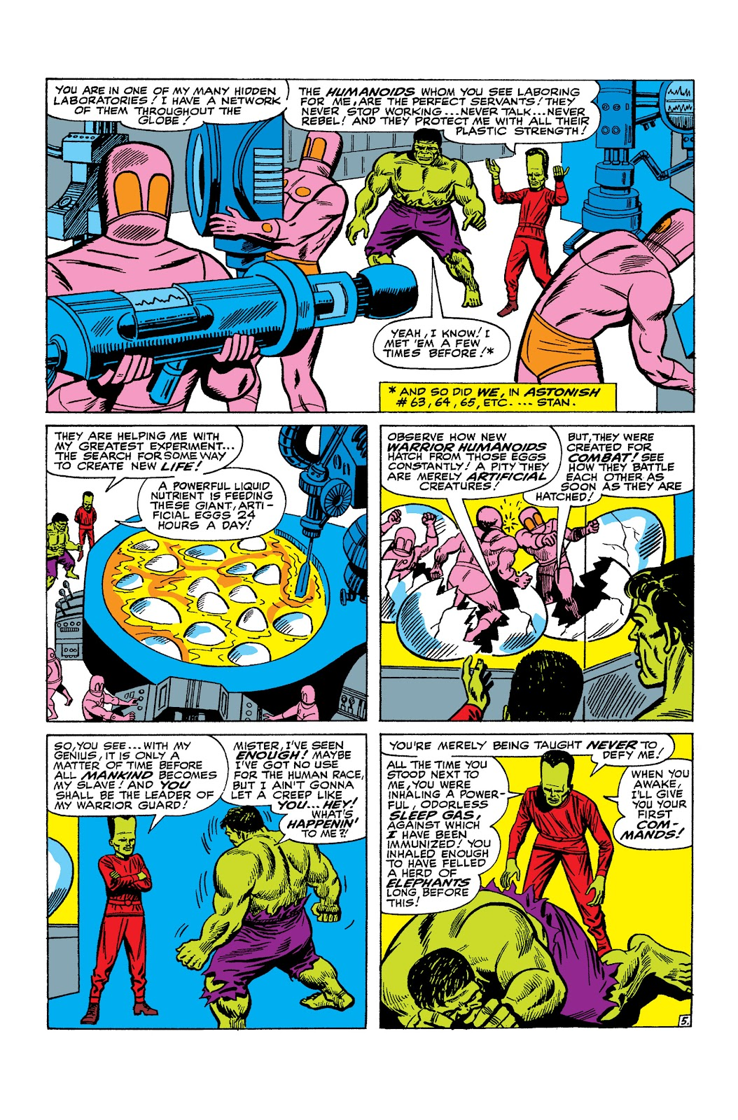 Read online Marvel Masterworks: The Incredible Hulk comic -  Issue # TPB 2 (Part 2) - 61