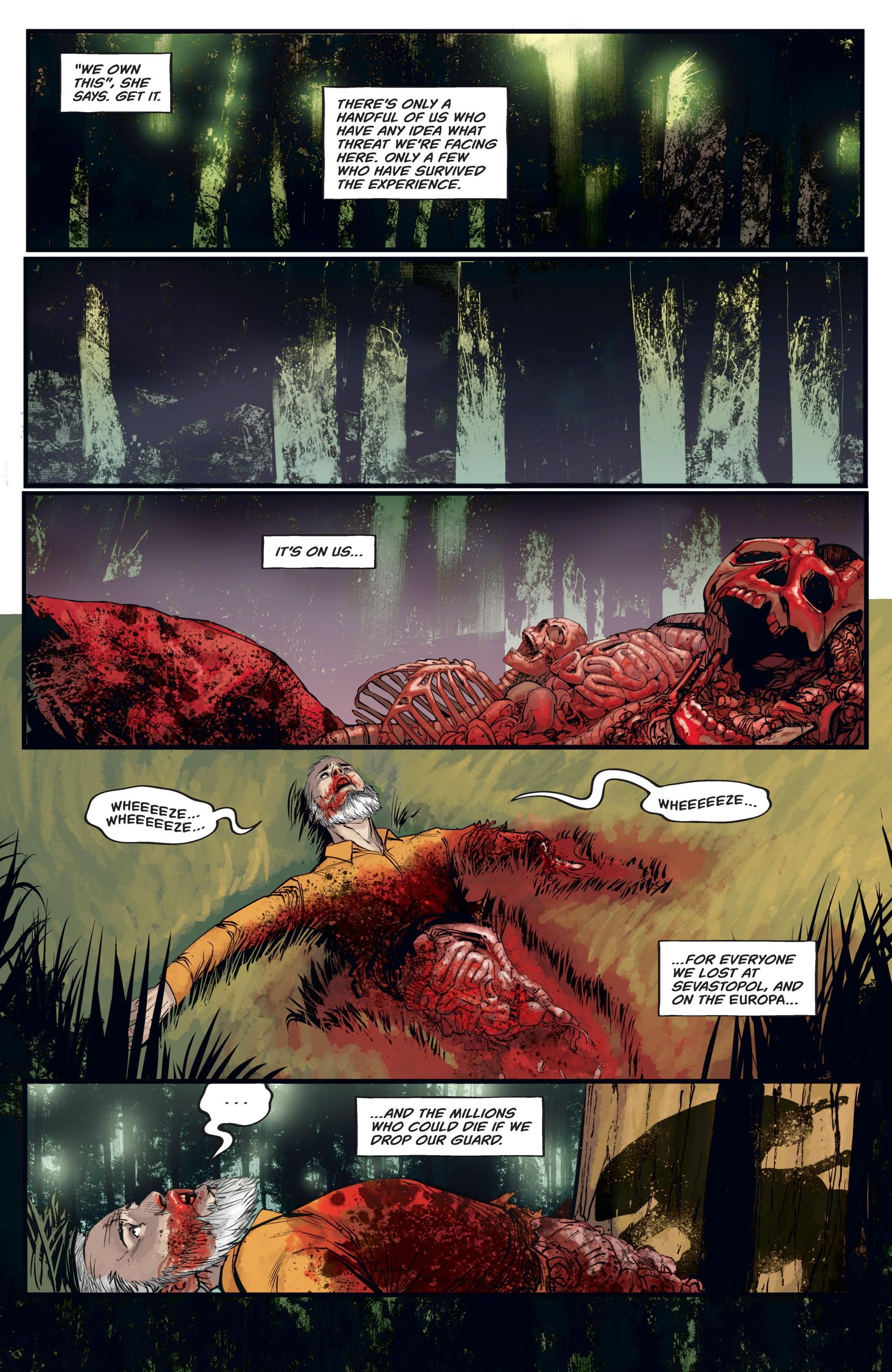 Read online Aliens: Resistance comic -  Issue # _TPB - 59