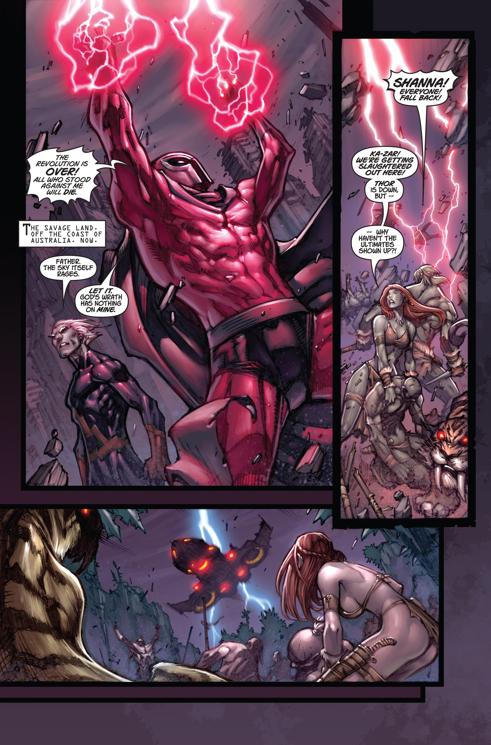 Read online Ultimates 3 comic -  Issue #5 - 8
