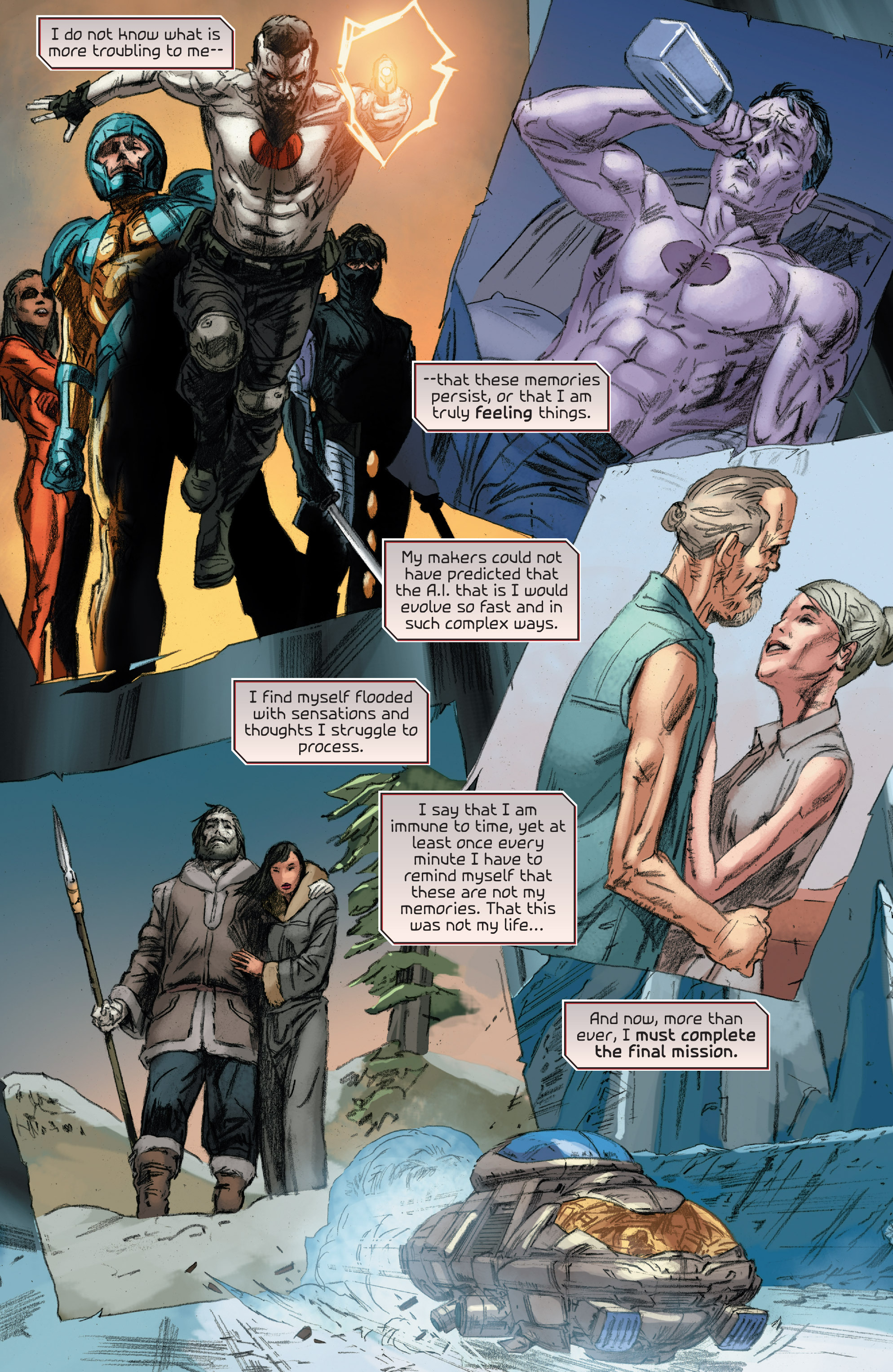 Read online 4001 A.D.: Bloodshot comic -  Issue #4001 A.D.: Bloodshot Full - 14