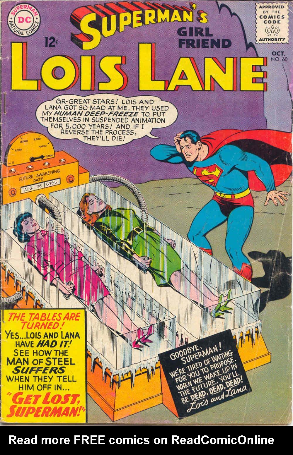 Supermans Girl Friend, Lois Lane 60 Page 1