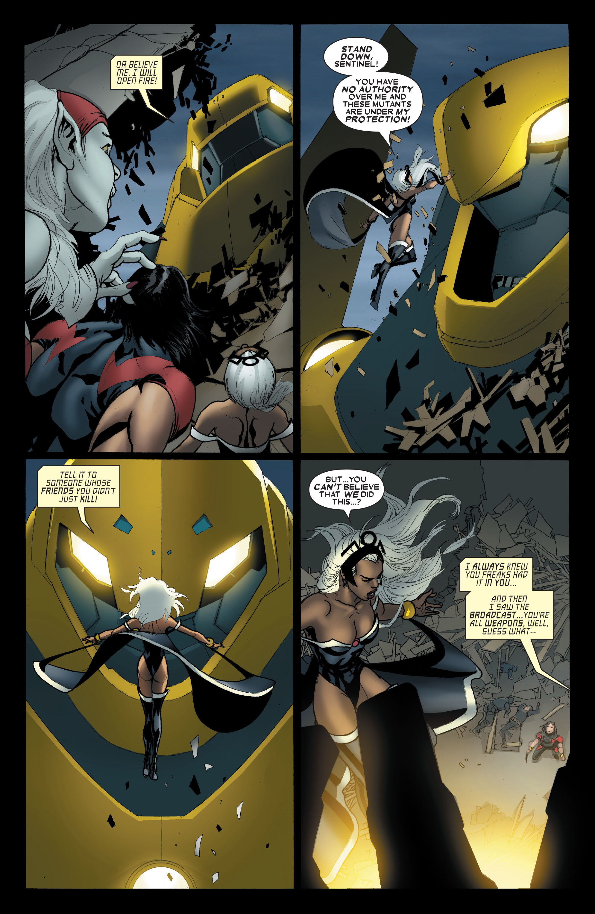 Read online Uncanny X-Men (1963) comic -  Issue #489 - 21