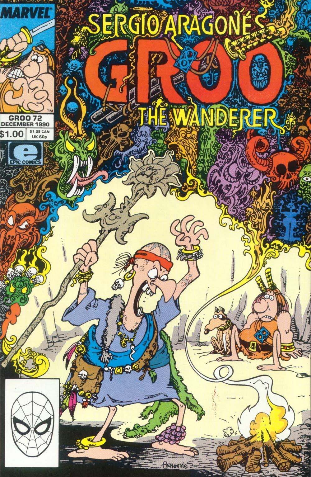 Read online Sergio Aragonés Groo the Wanderer comic -  Issue #72 - 1