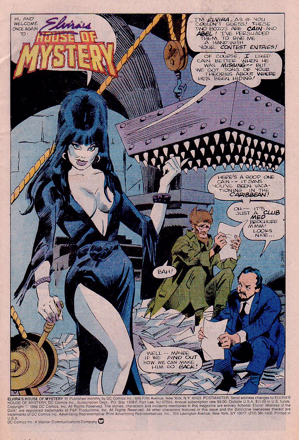 Elvira's House of Mystery Issue #11 #12 - English 2