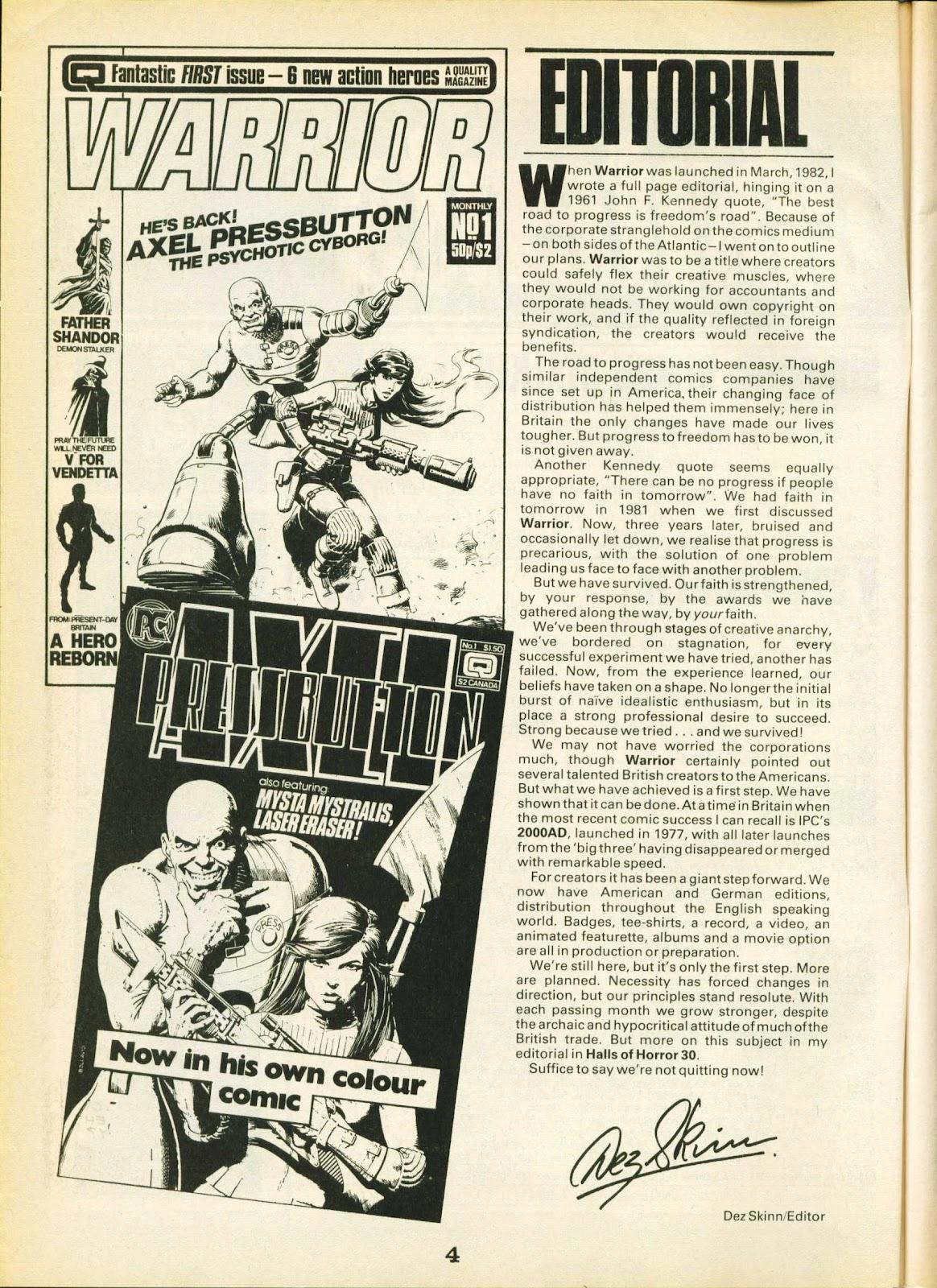 Warrior Issue #23 #24 - English 4