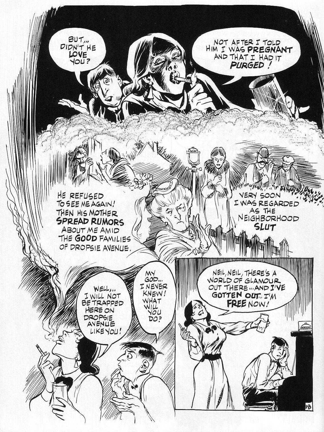 Read online Dropsie Avenue, The Neighborhood comic -  Issue # Full - 20