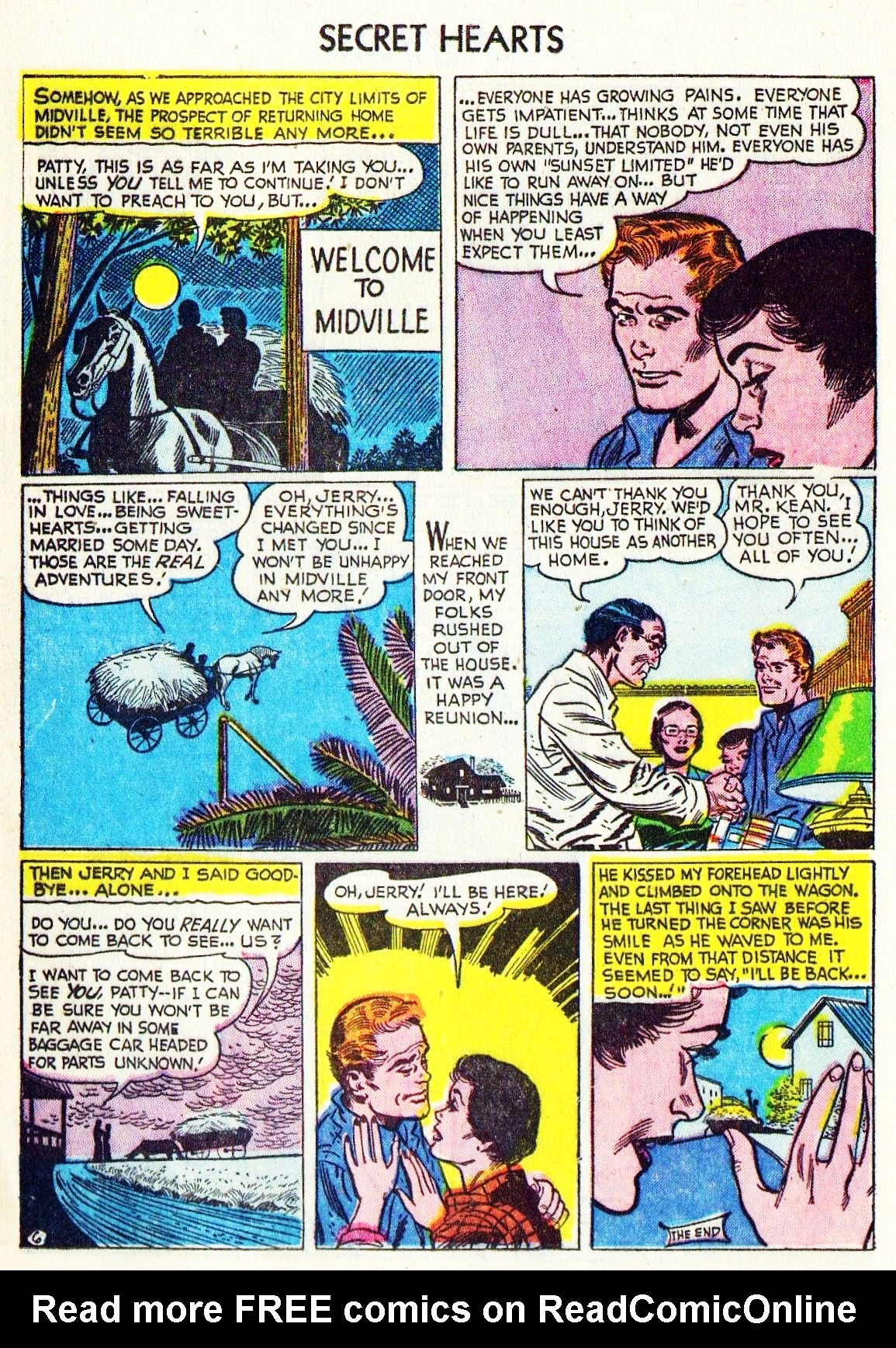 Read online Secret Hearts comic -  Issue #15 - 16