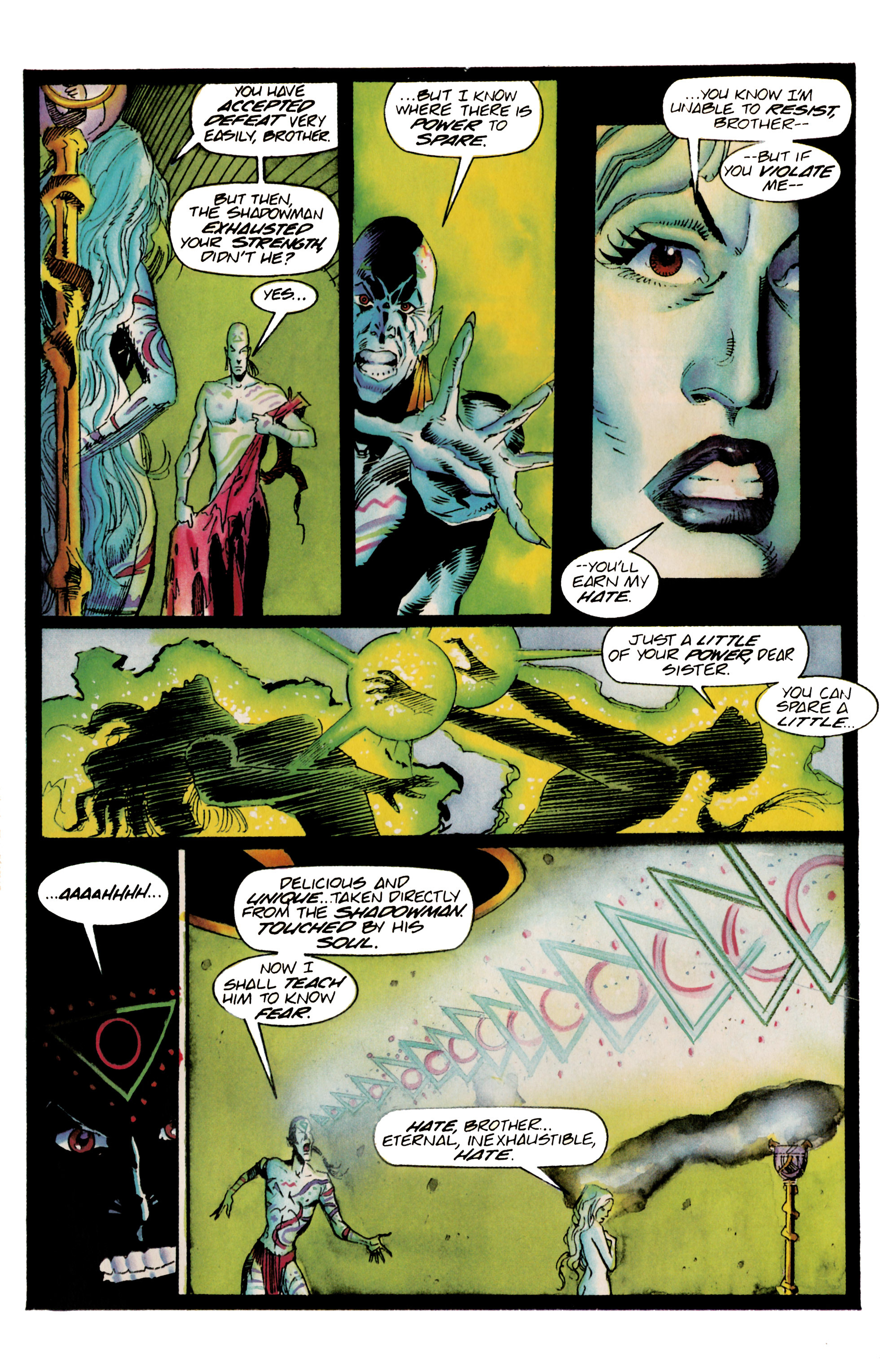 Read online Shadowman (1992) comic -  Issue #23 - 21